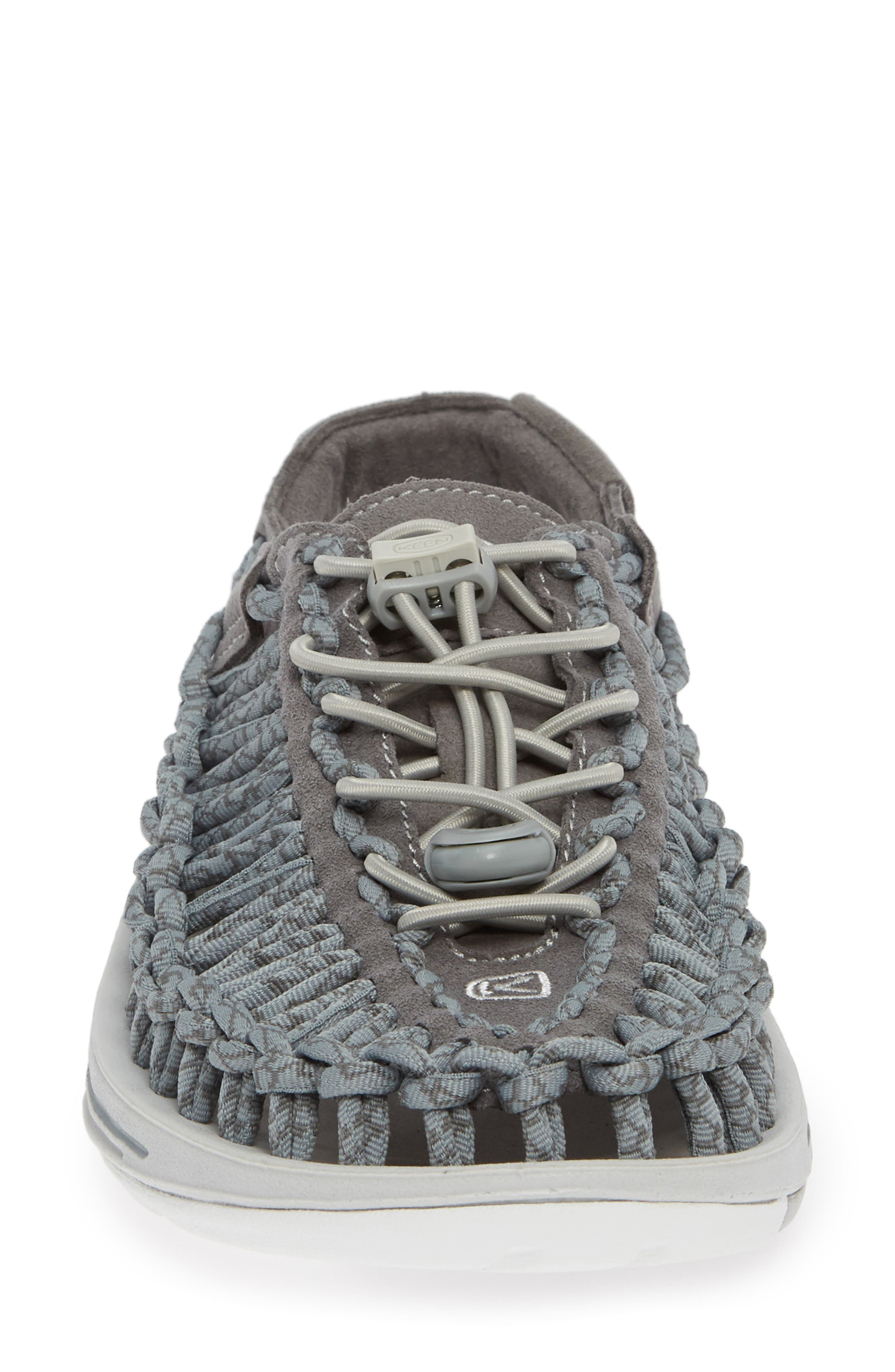 'Uneek' Water Sneaker,                             Alternate thumbnail 4, color,                             NEUTRAL GRAY/ GARGOYLE