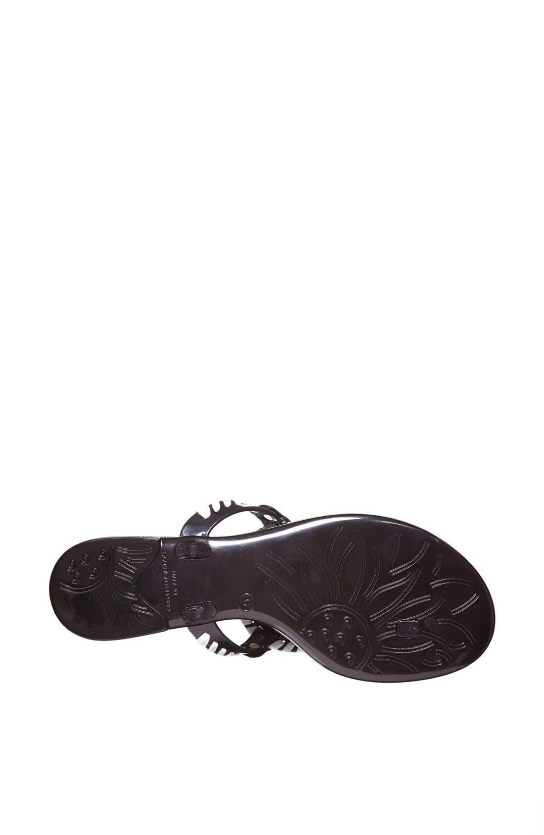 'Georgica' Jelly Flip Flop,                             Alternate thumbnail 138, color,