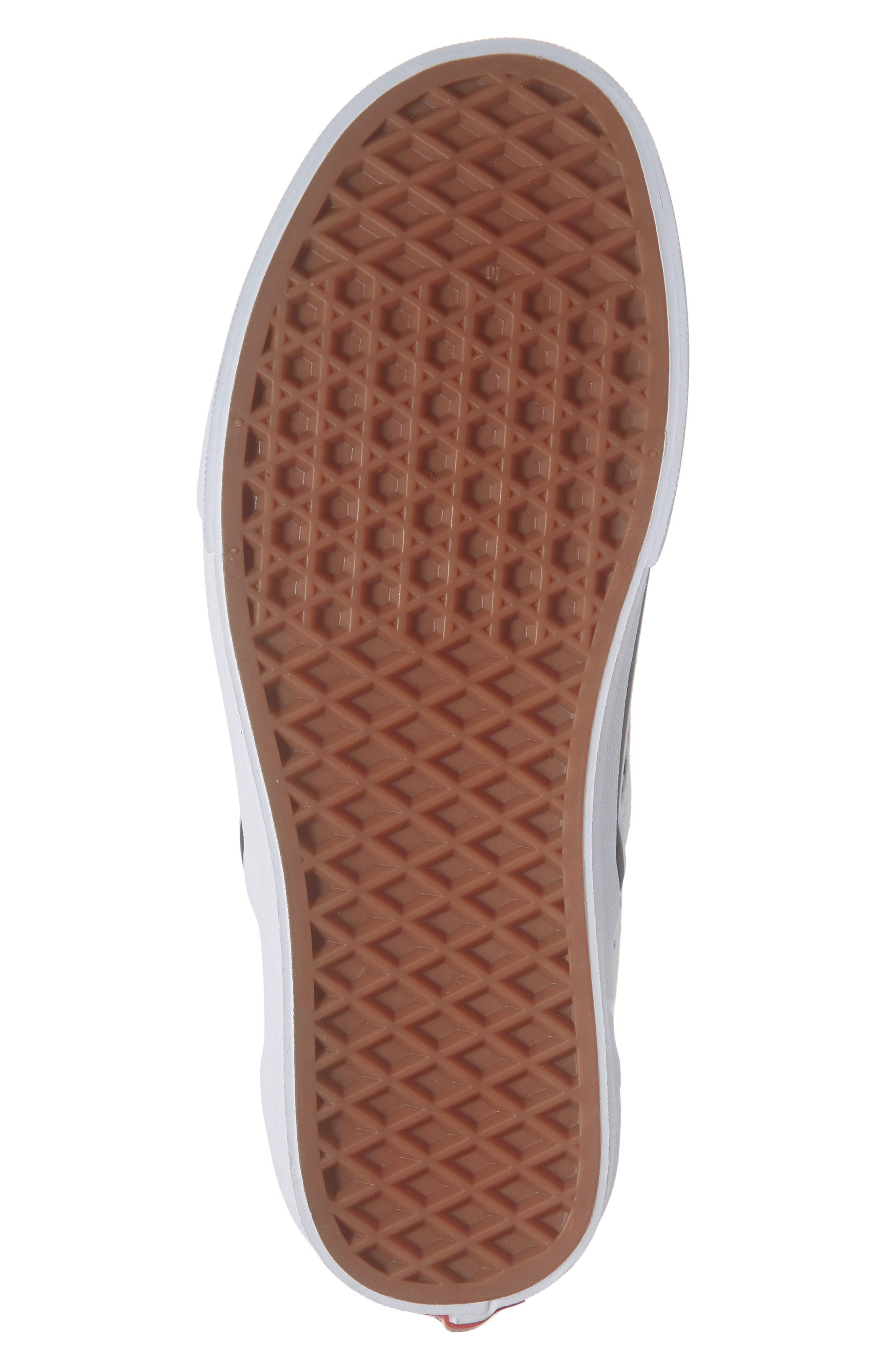 VANS,                             x Ashley Williams Print Classic Slip-On Sneaker,                             Alternate thumbnail 6, color,                             100