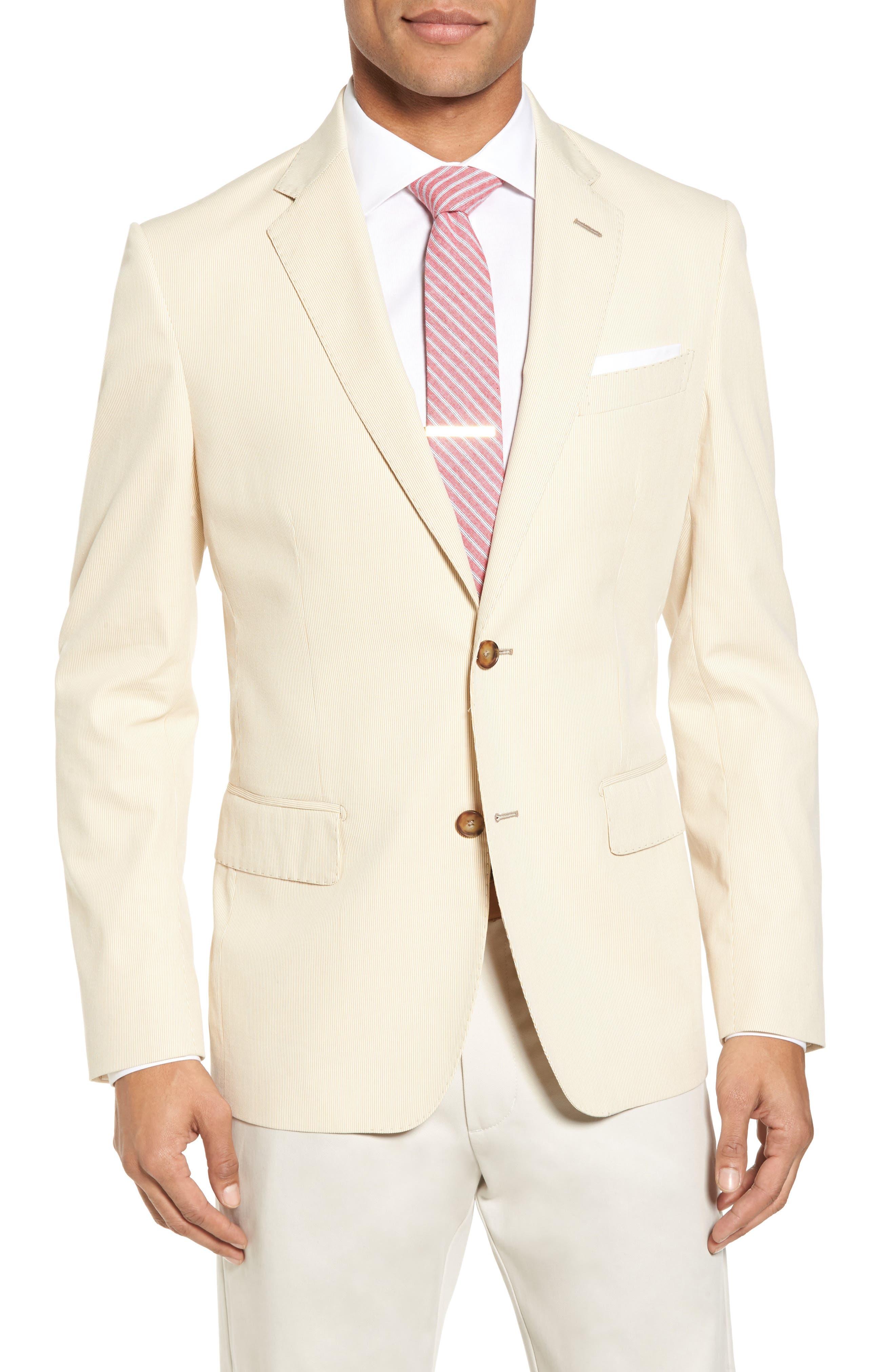 Classic Fit Stripe Sport Coat,                         Main,                         color, 270