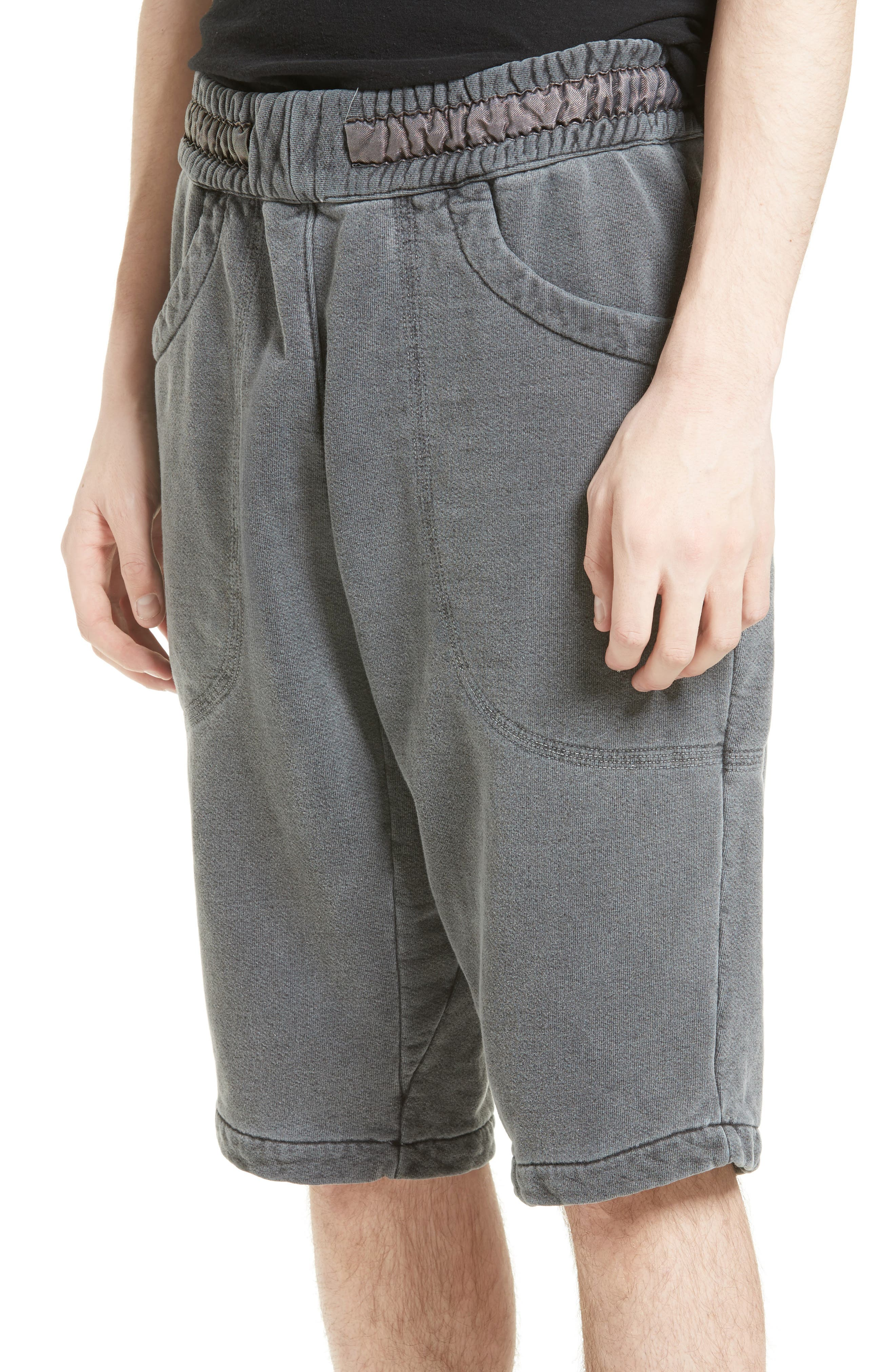 Quark Sweat Shorts,                             Alternate thumbnail 4, color,                             001