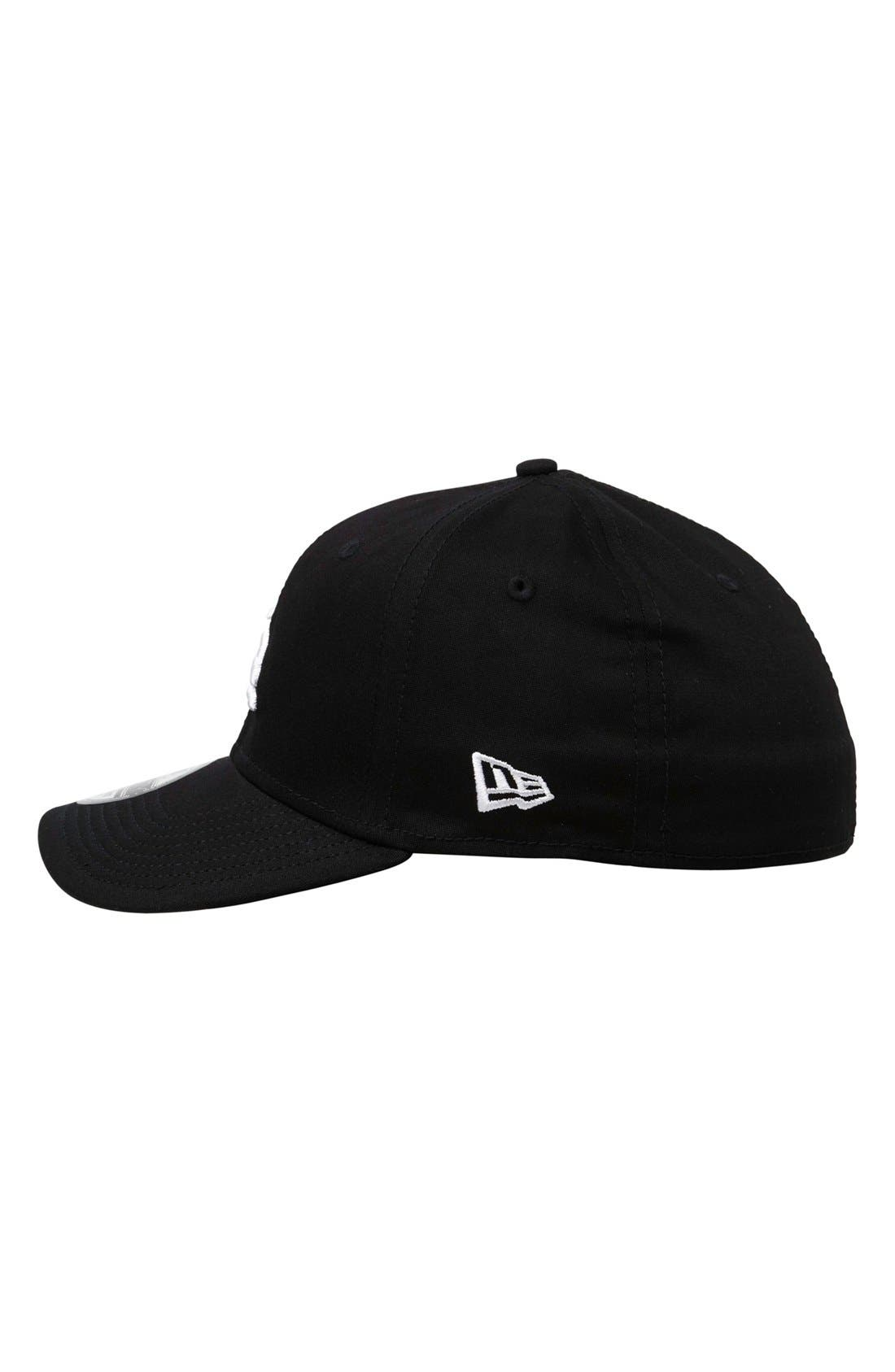 'Ruckis' Fitted Hat,                             Alternate thumbnail 2, color,                             001