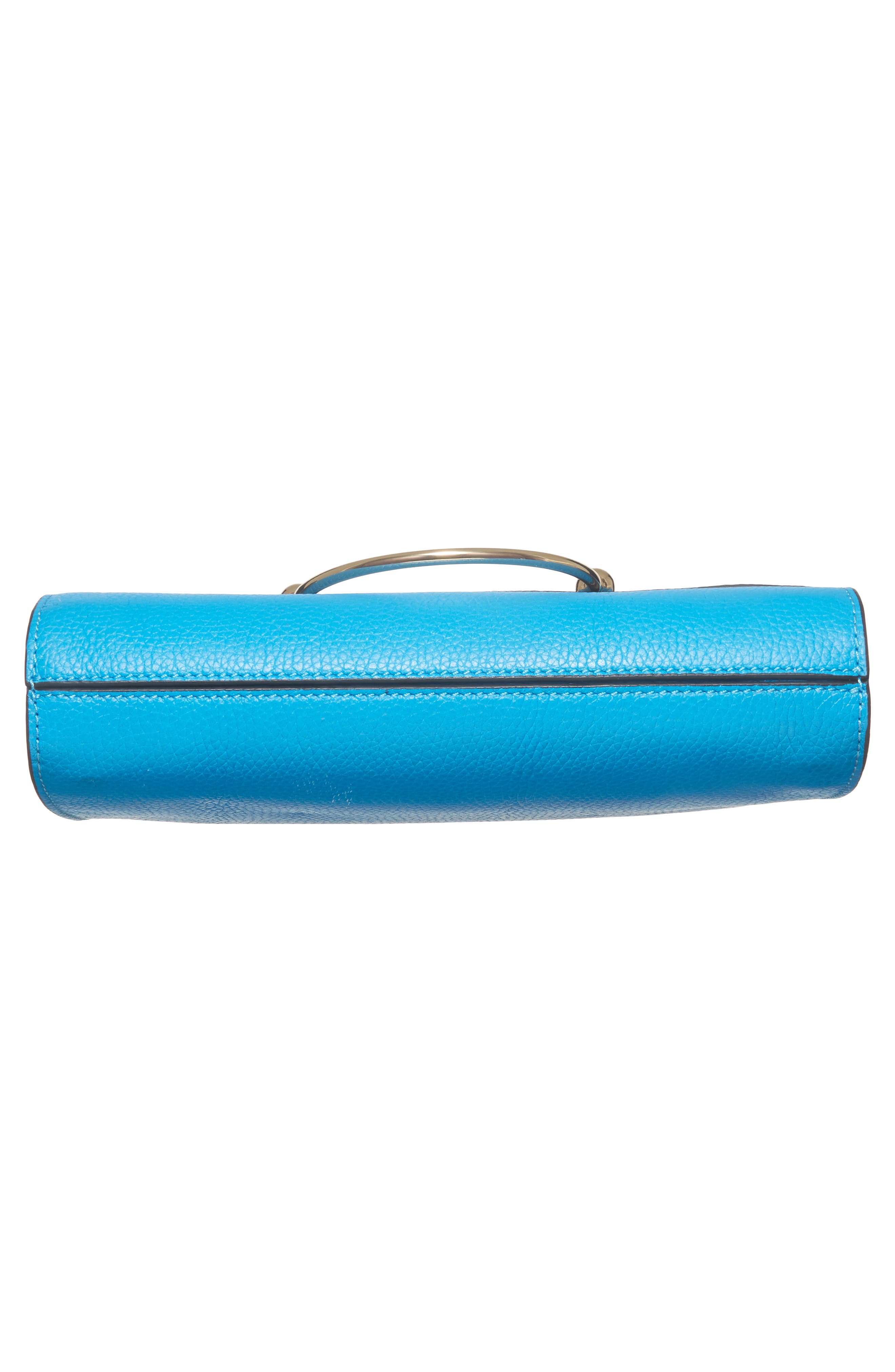 Astor Pebbled Leather Flap Clutch,                             Alternate thumbnail 23, color,