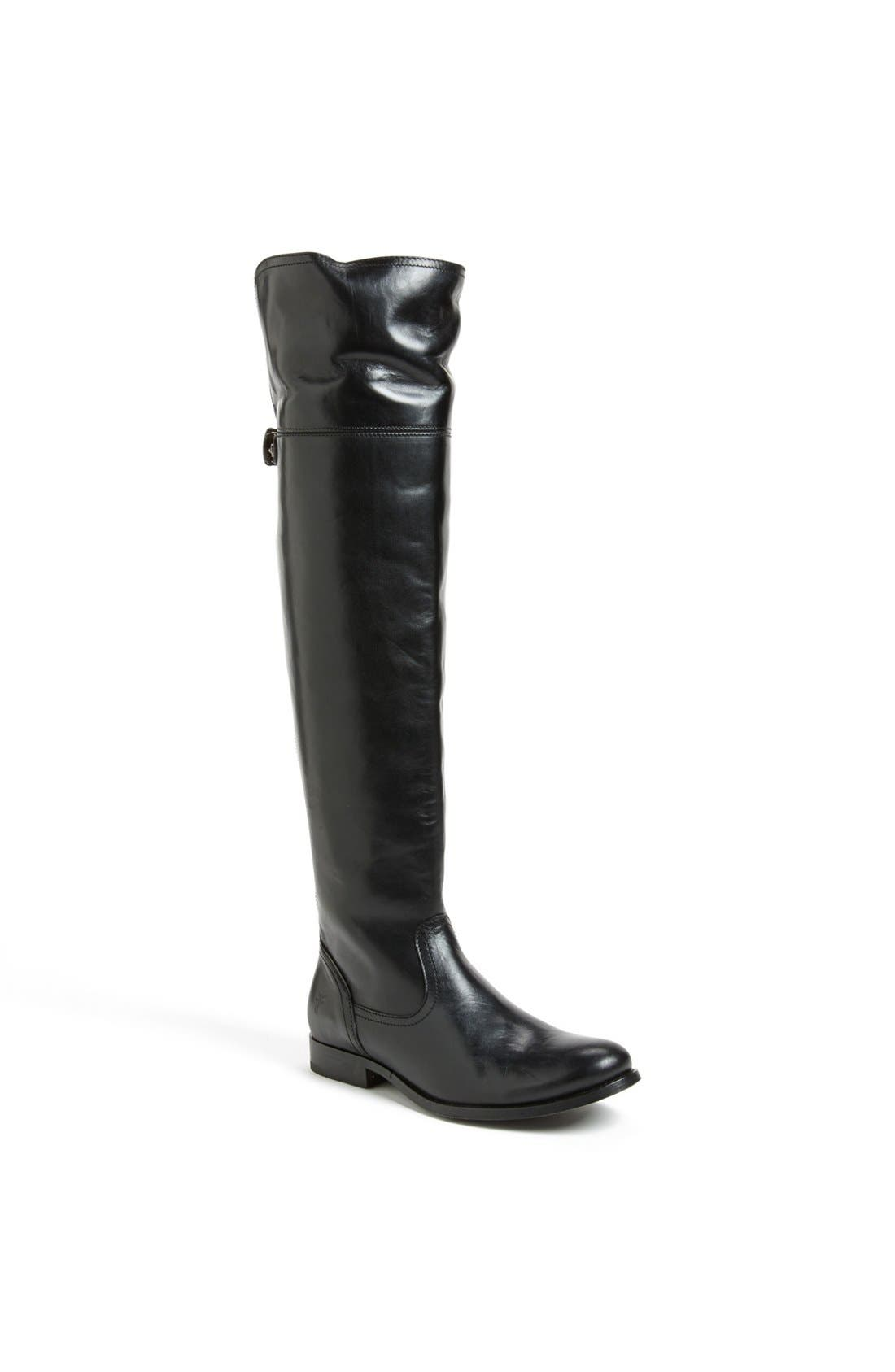 'Melissa' Over the Knee Boot,                             Main thumbnail 1, color,                             001