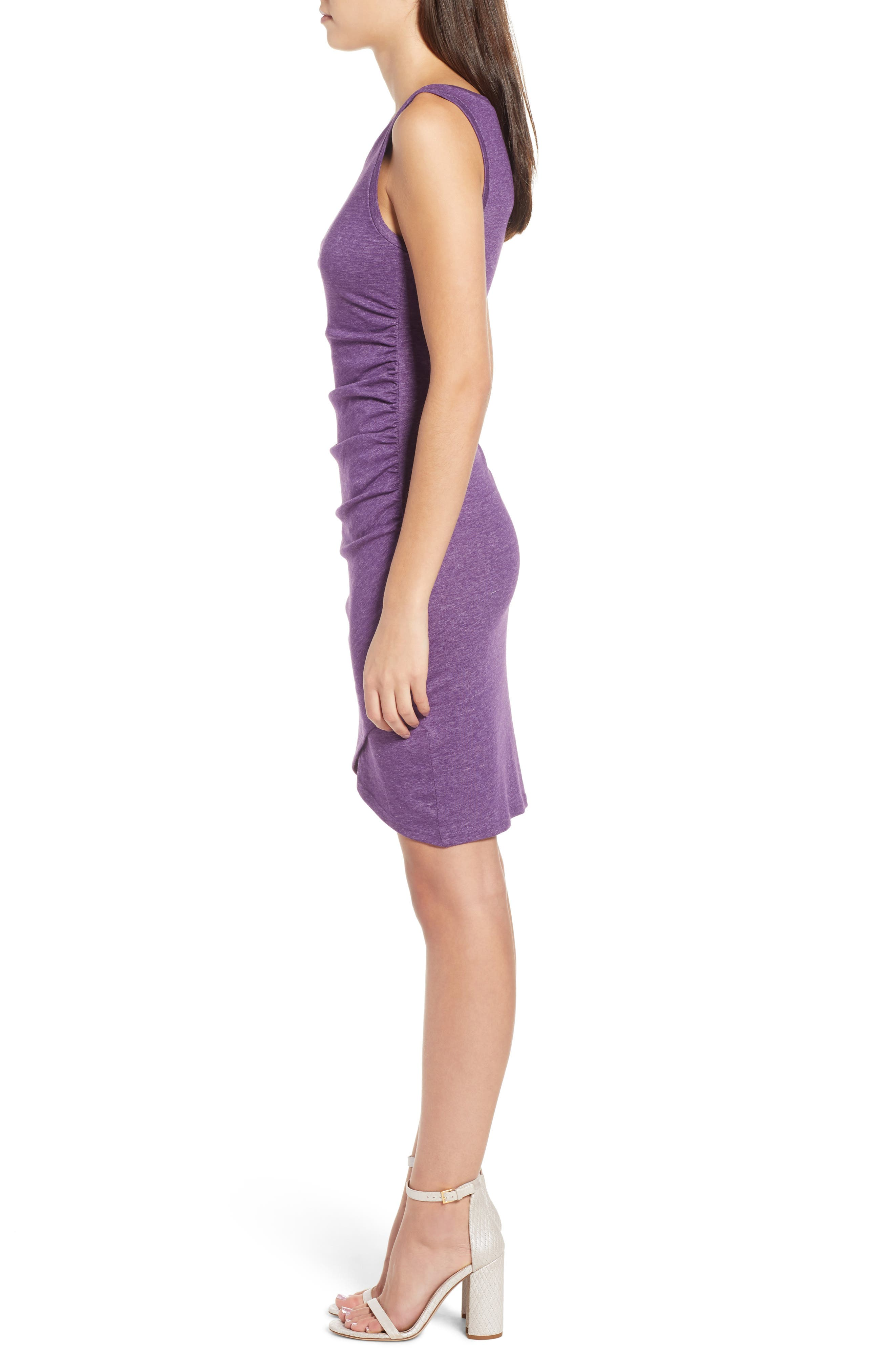 Ruched Body-Con Tank Dress,                             Alternate thumbnail 80, color,