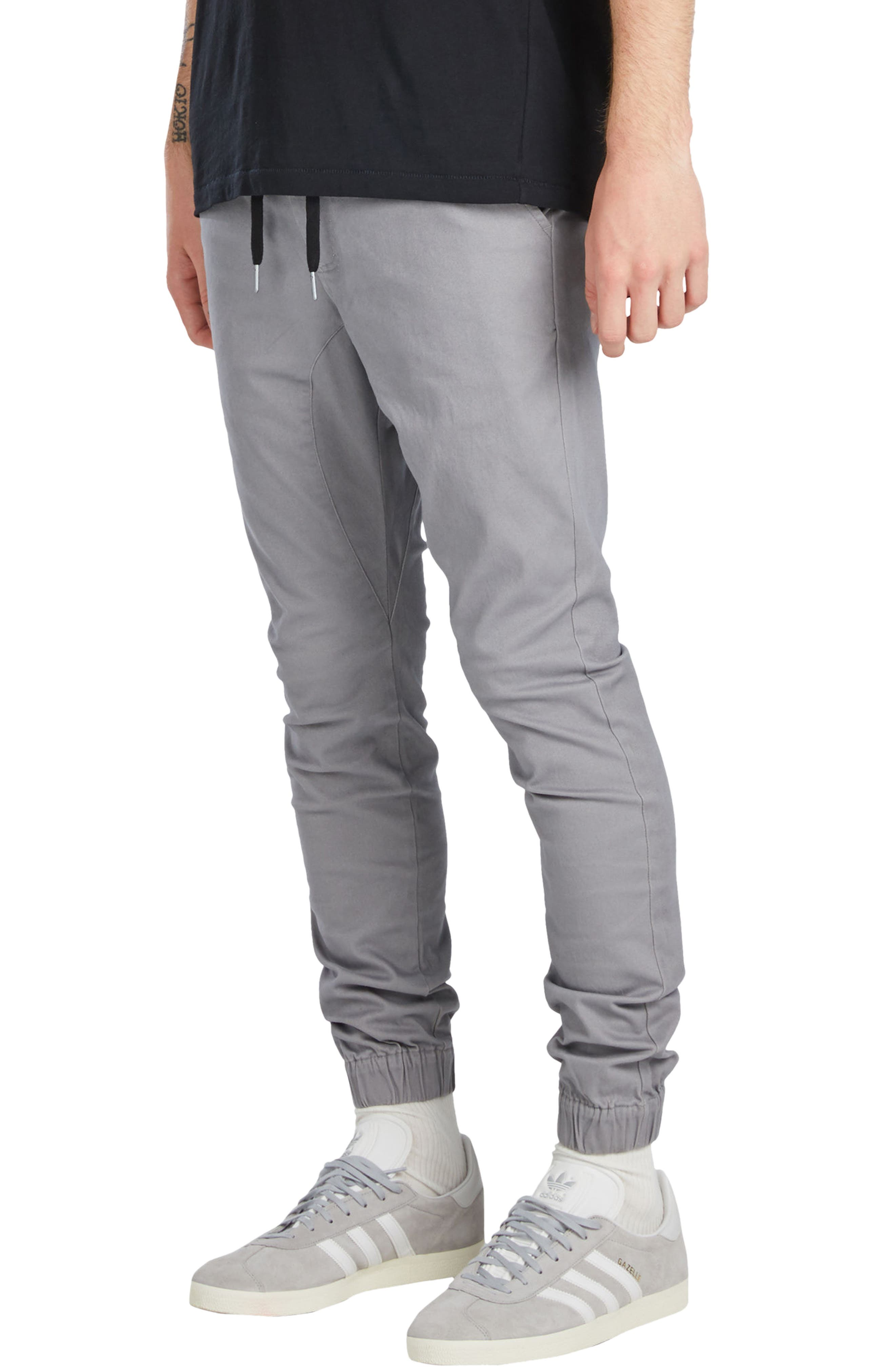 Sureshot Jogger Pants,                             Alternate thumbnail 3, color,                             CEMENT