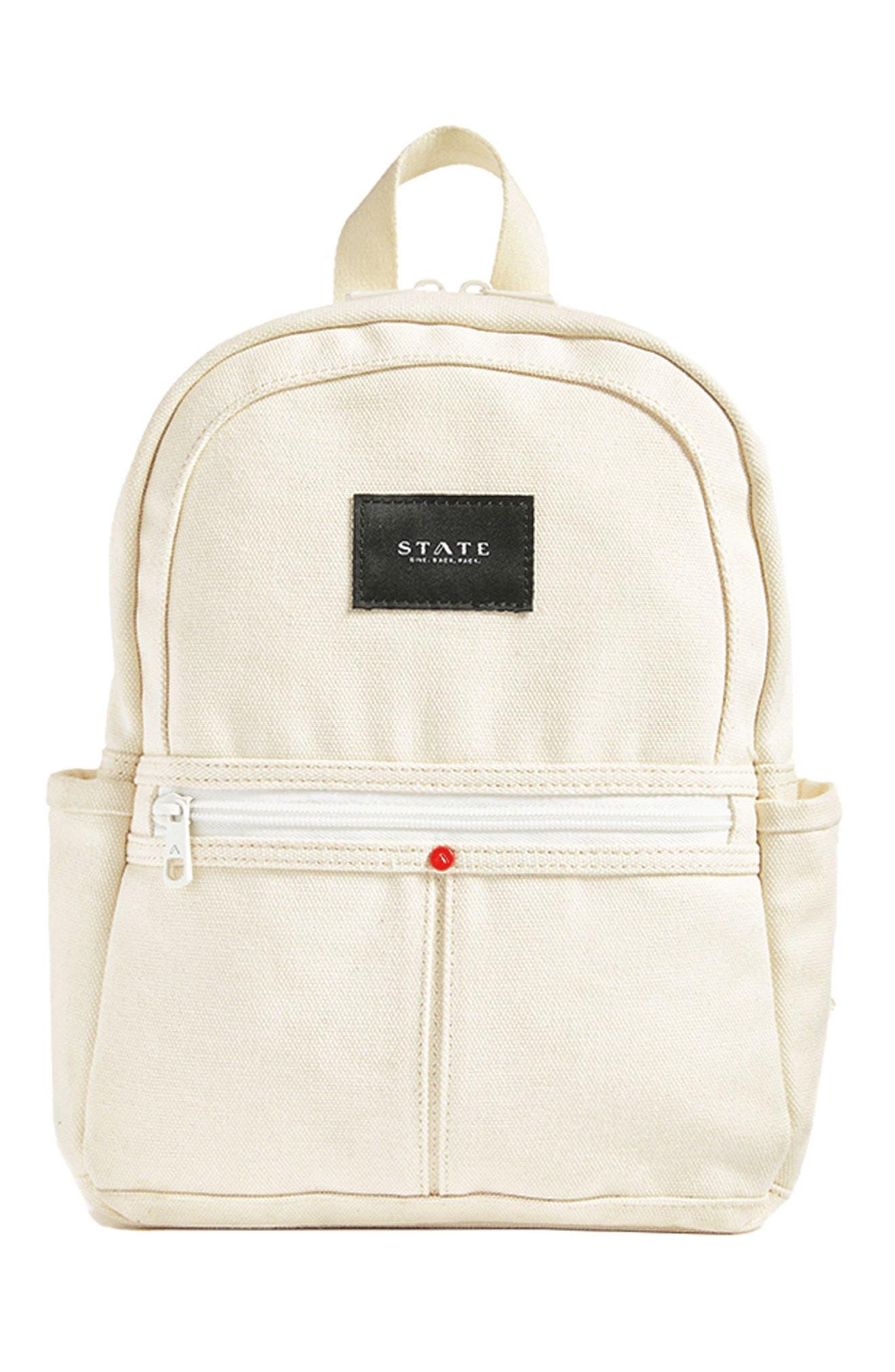Kensington Mini Kane Canvas Backpack,                             Alternate thumbnail 7, color,                             900