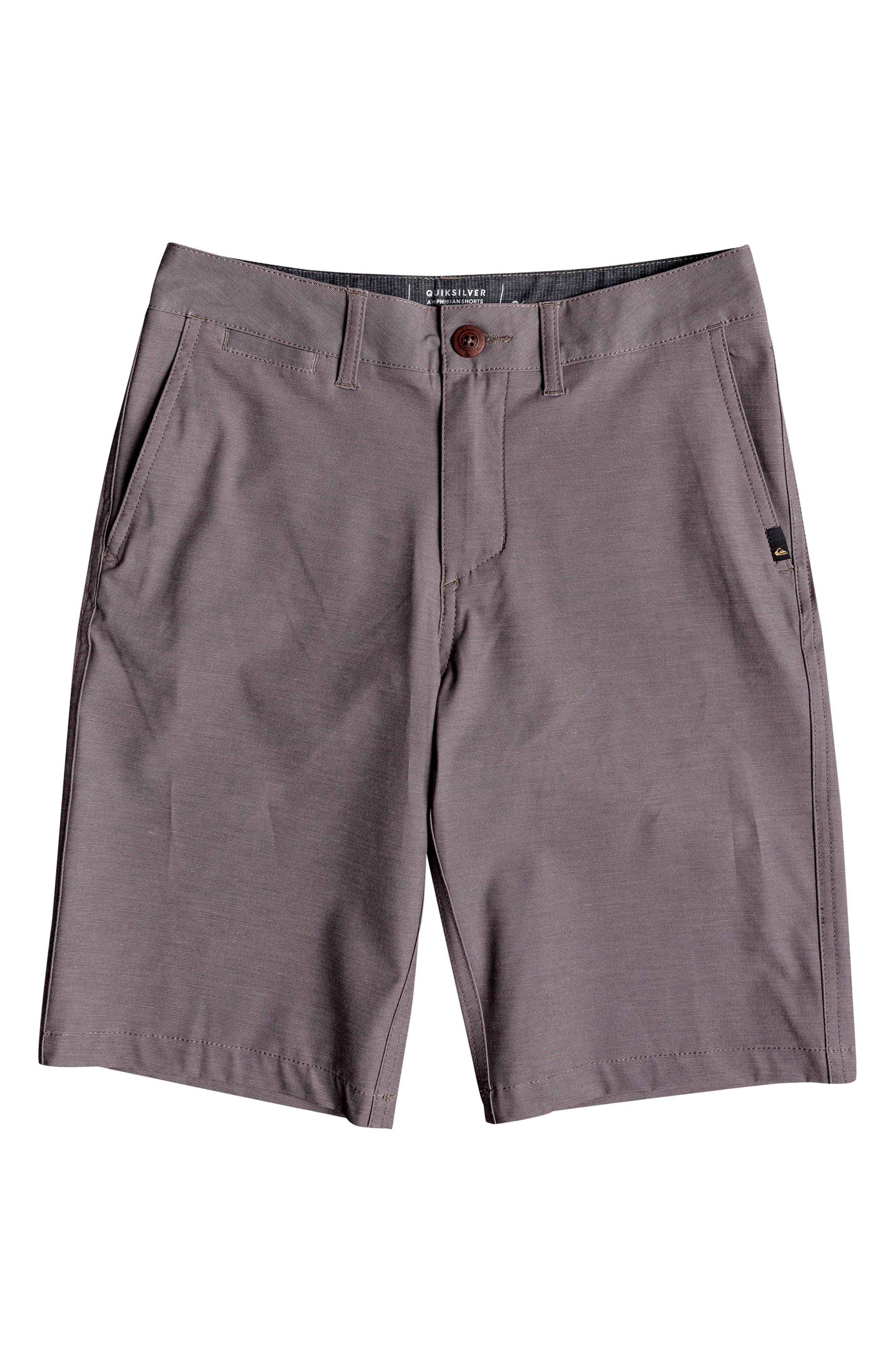 Union Heather Amphibian Hybrid Shorts,                             Main thumbnail 1, color,                             FALCON
