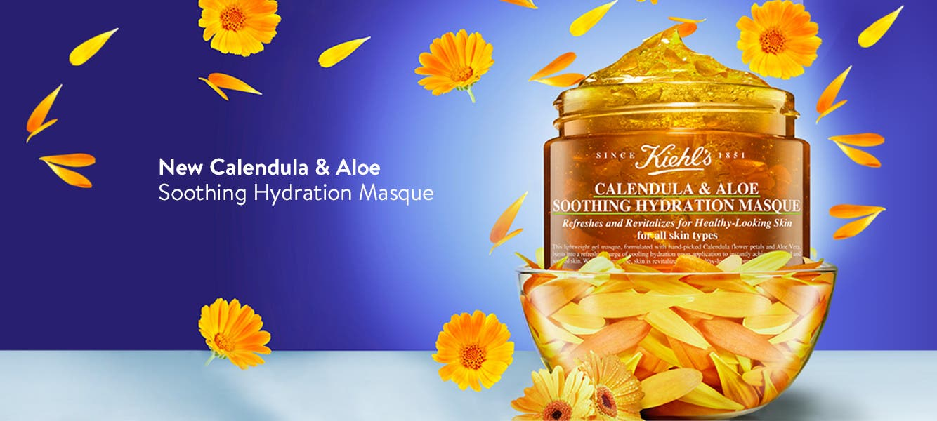 Kiehl's Calendula and Aloe Soothing Hydrating Masque