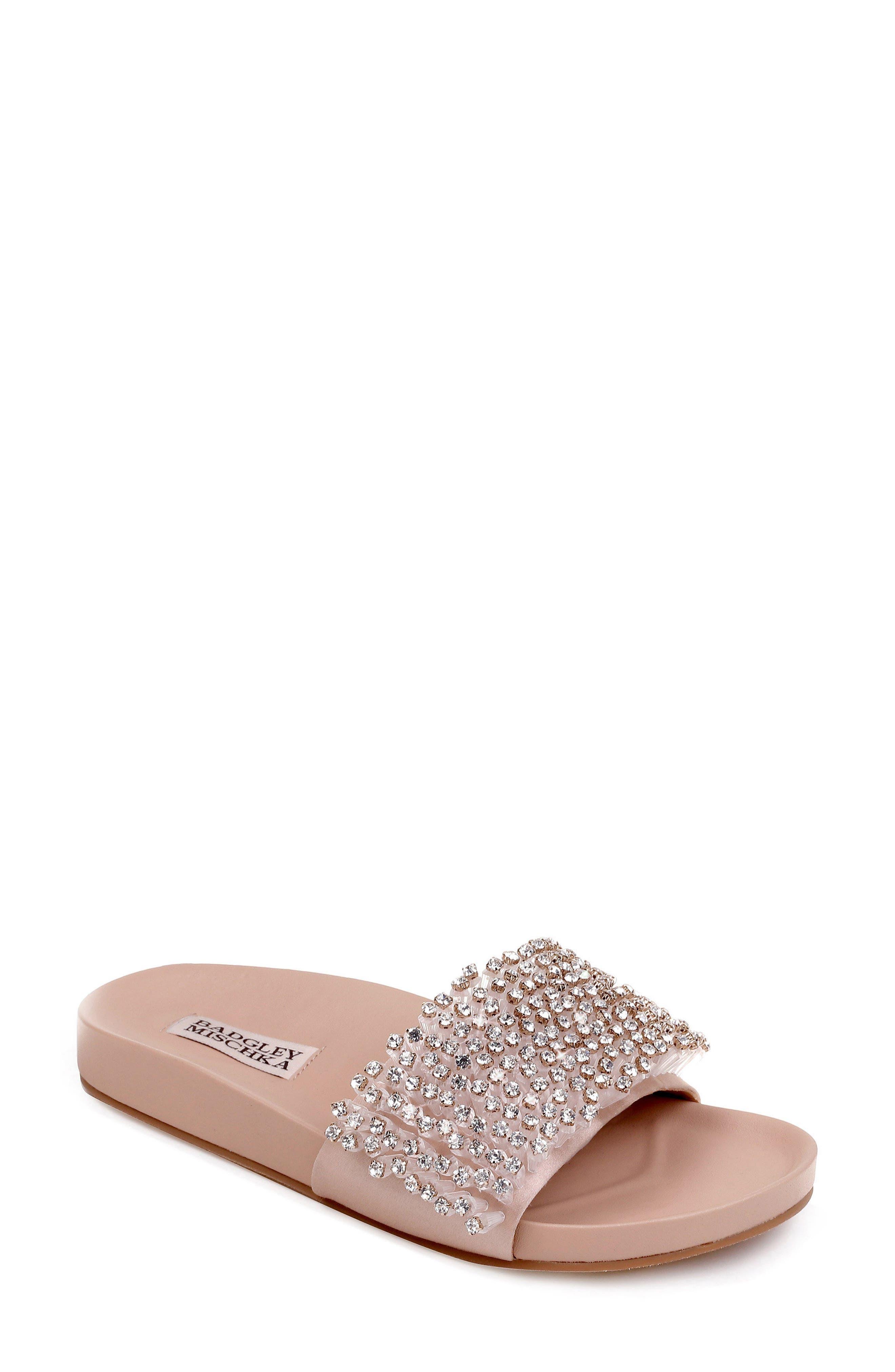 Horton Crystal Embellished Sandal,                             Main thumbnail 2, color,