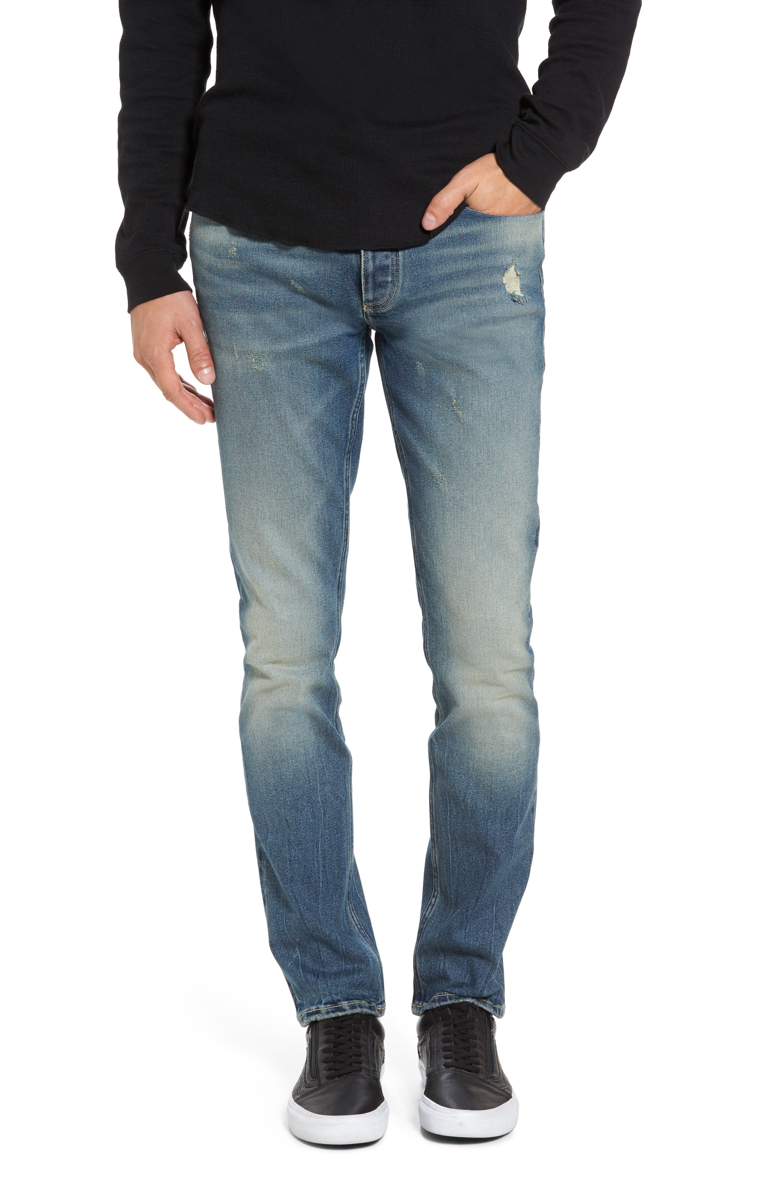 Skinny Jeans,                             Main thumbnail 1, color,                             430