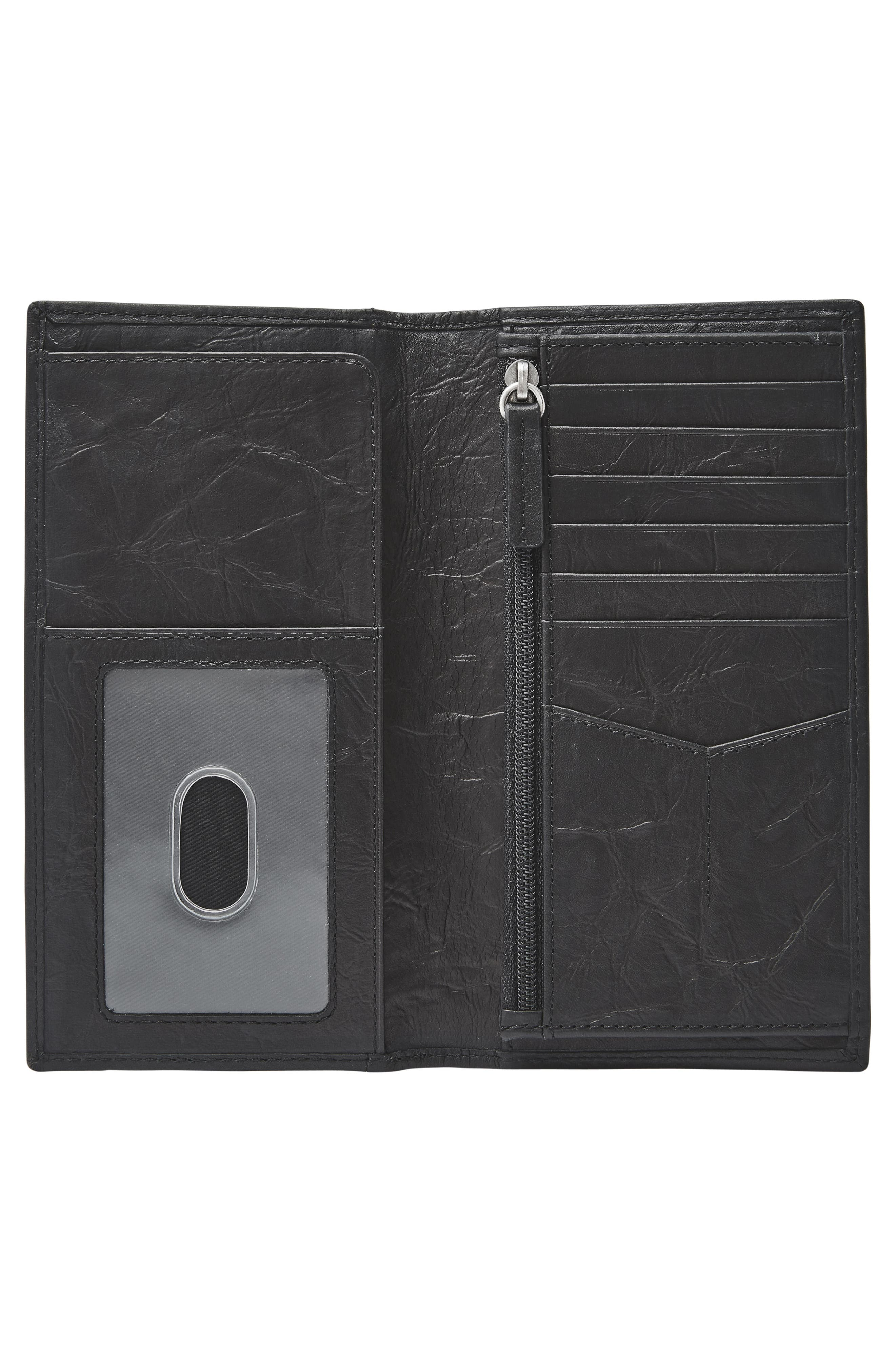 Neel Leather Executive Wallet,                             Alternate thumbnail 2, color,                             001
