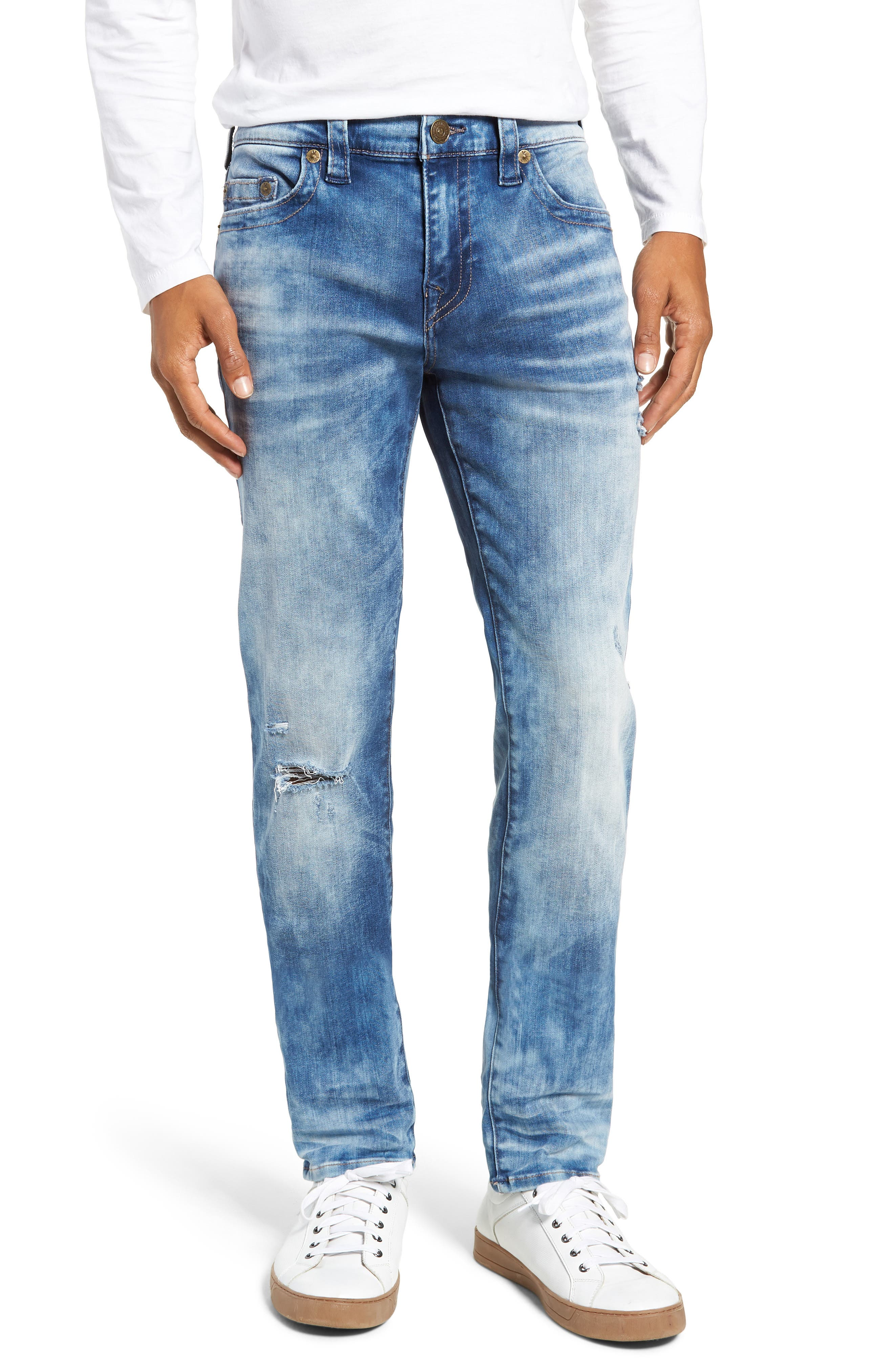 Rocco Skinny Fit Jeans,                             Main thumbnail 1, color,                             BLUE RIOT