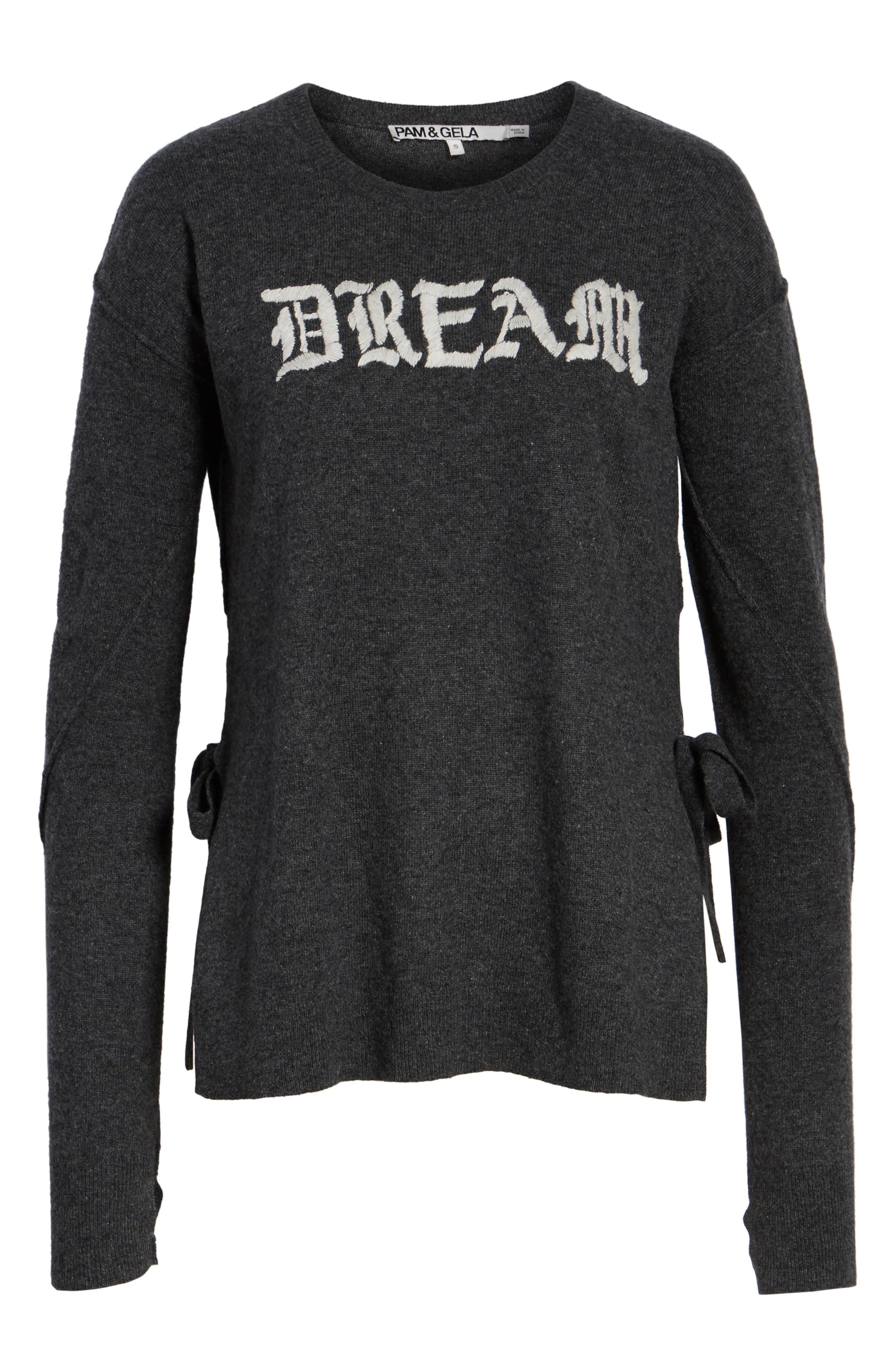 Dream Side Tie Sweater,                             Alternate thumbnail 6, color,                             031