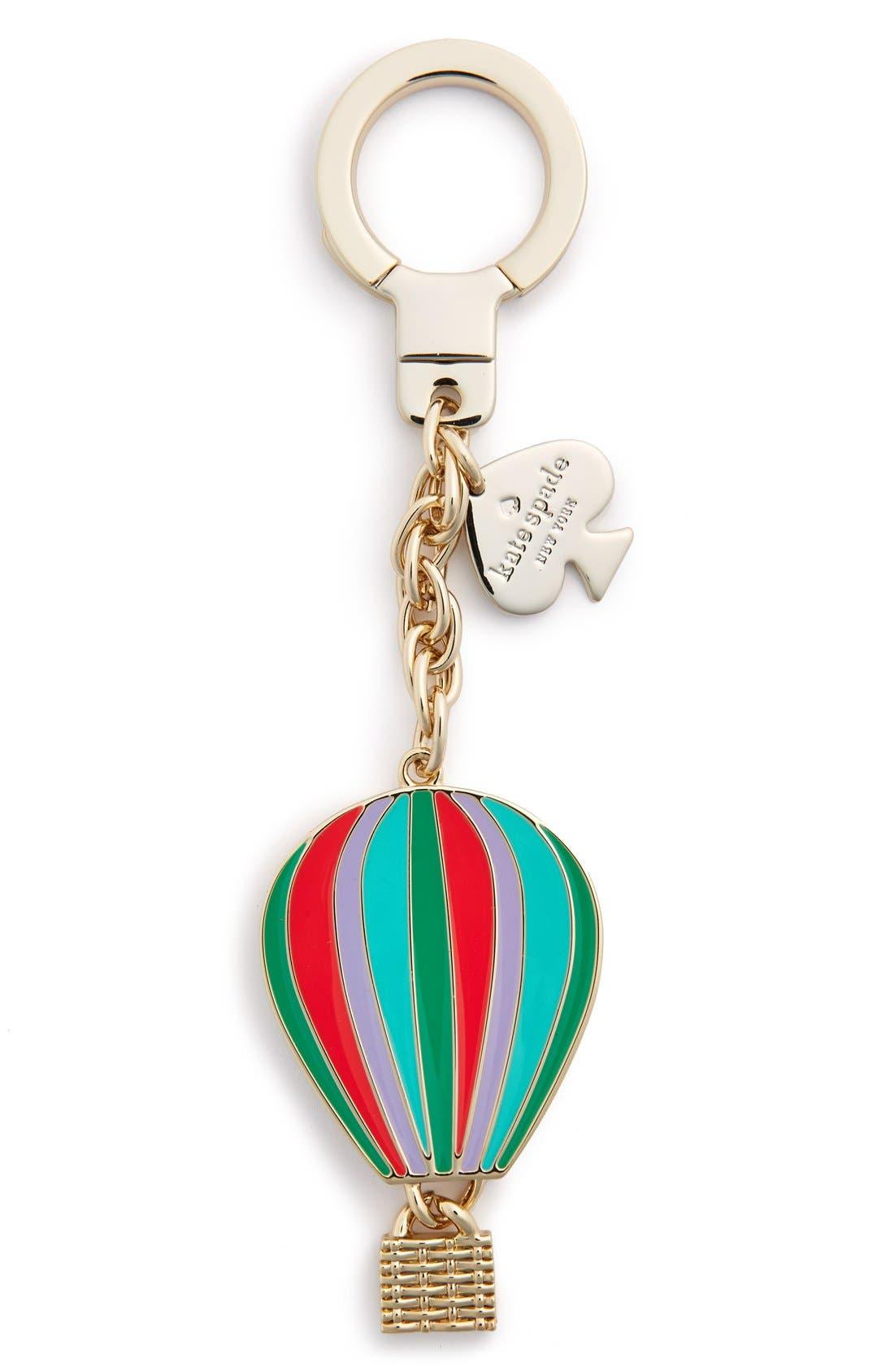 'hot air balloon' key fob, Main, color, 650