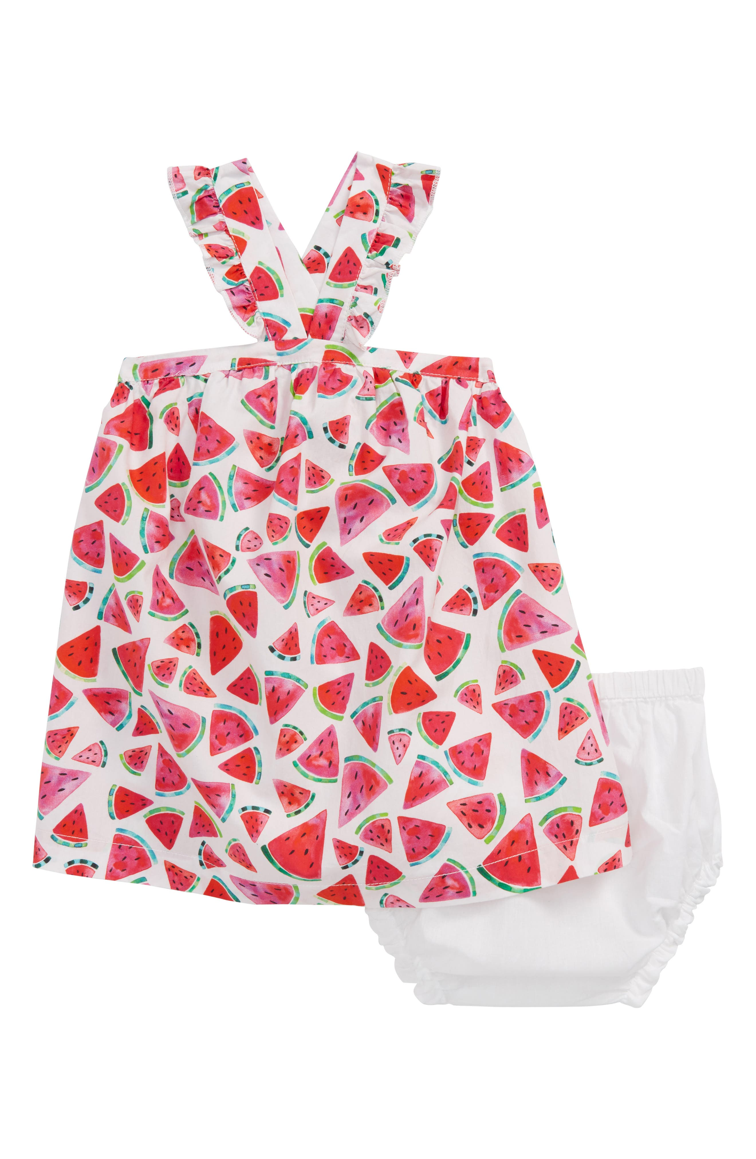 Watermelon Print Dress,                         Main,                         color, 100