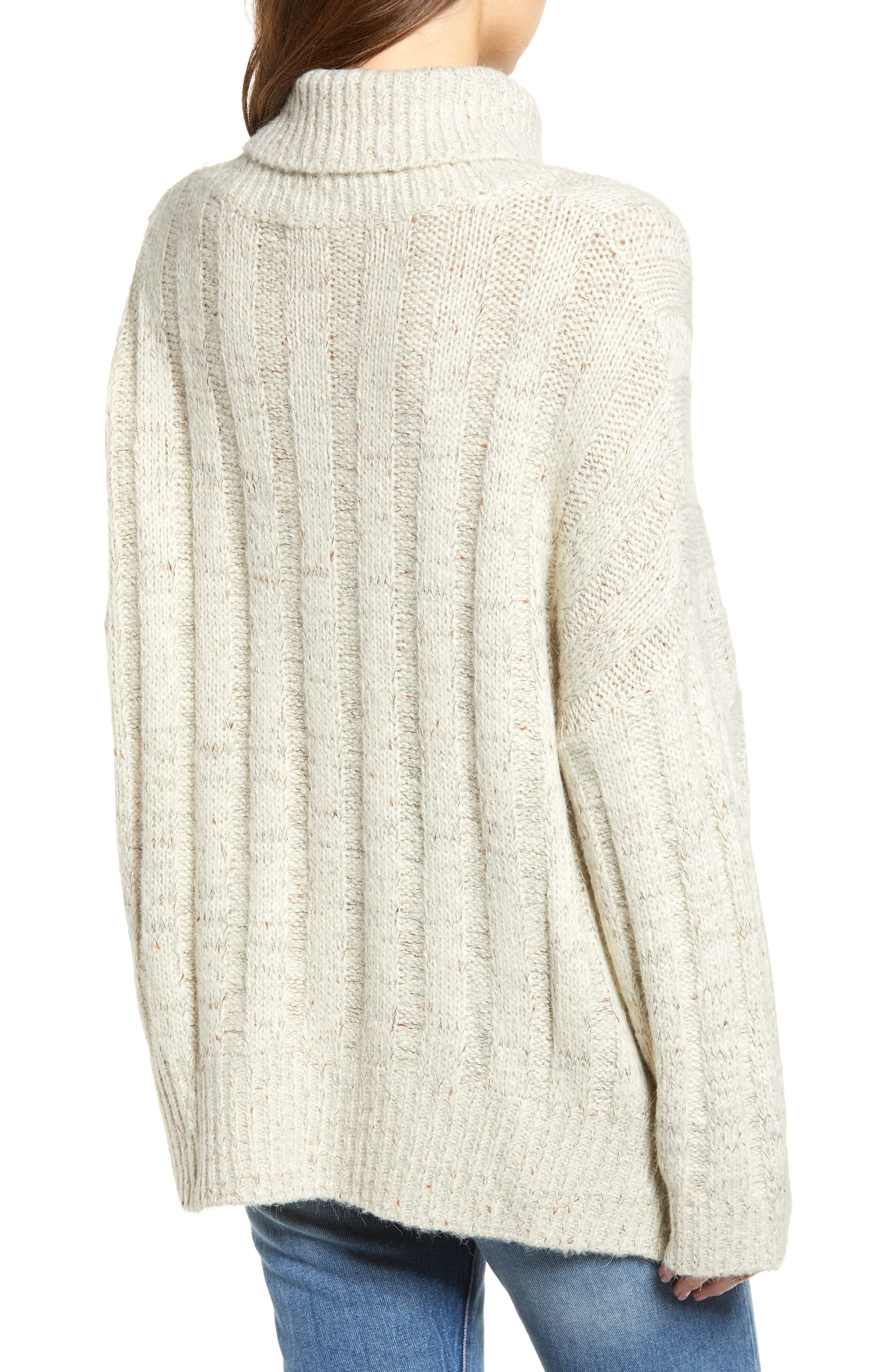 Oversized Turtleneck Sweater,                             Alternate thumbnail 2, color,                             250