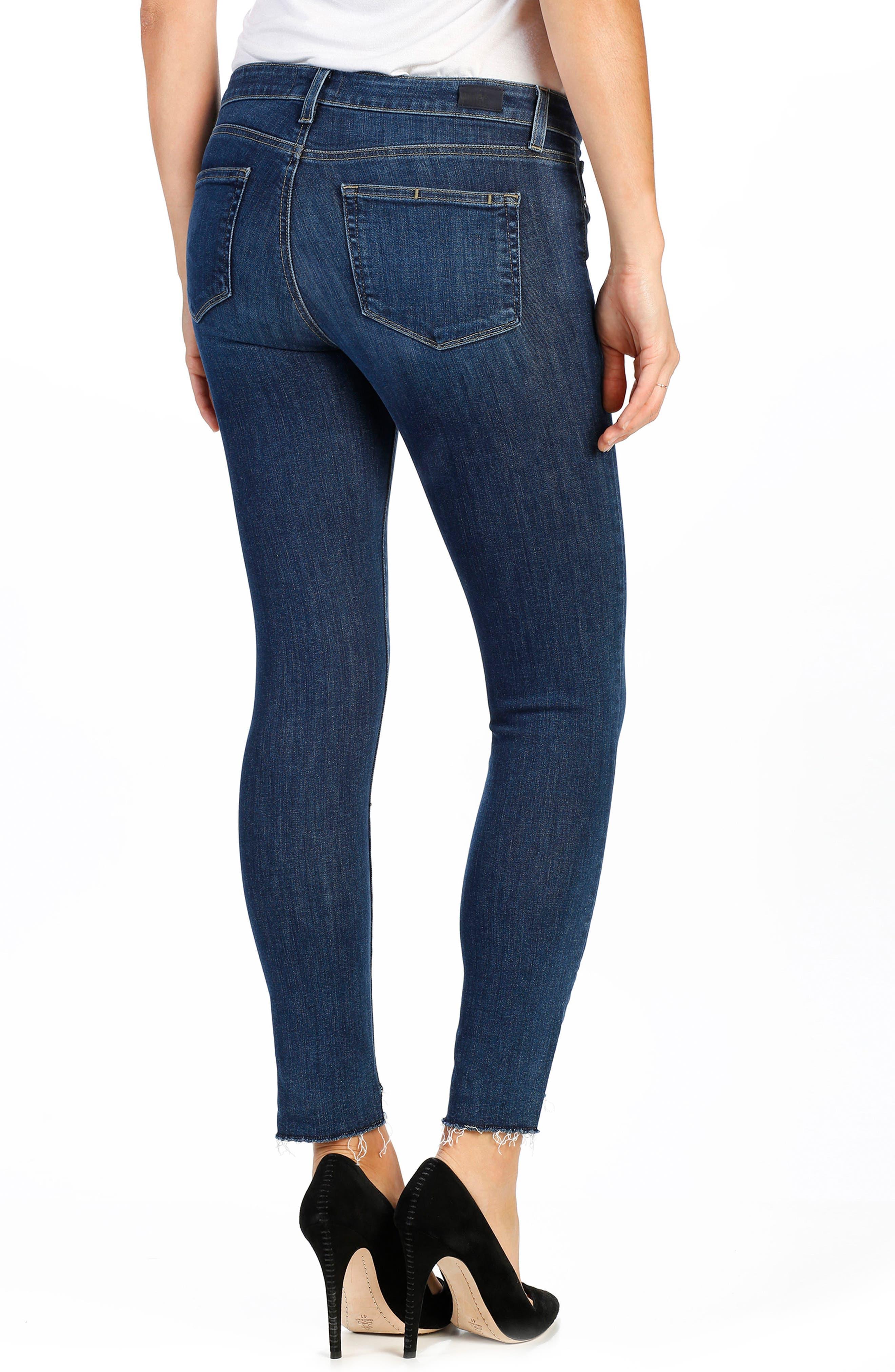 Legacy - Verdugo Step Hem Skinny Jeans,                             Alternate thumbnail 3, color,                             400