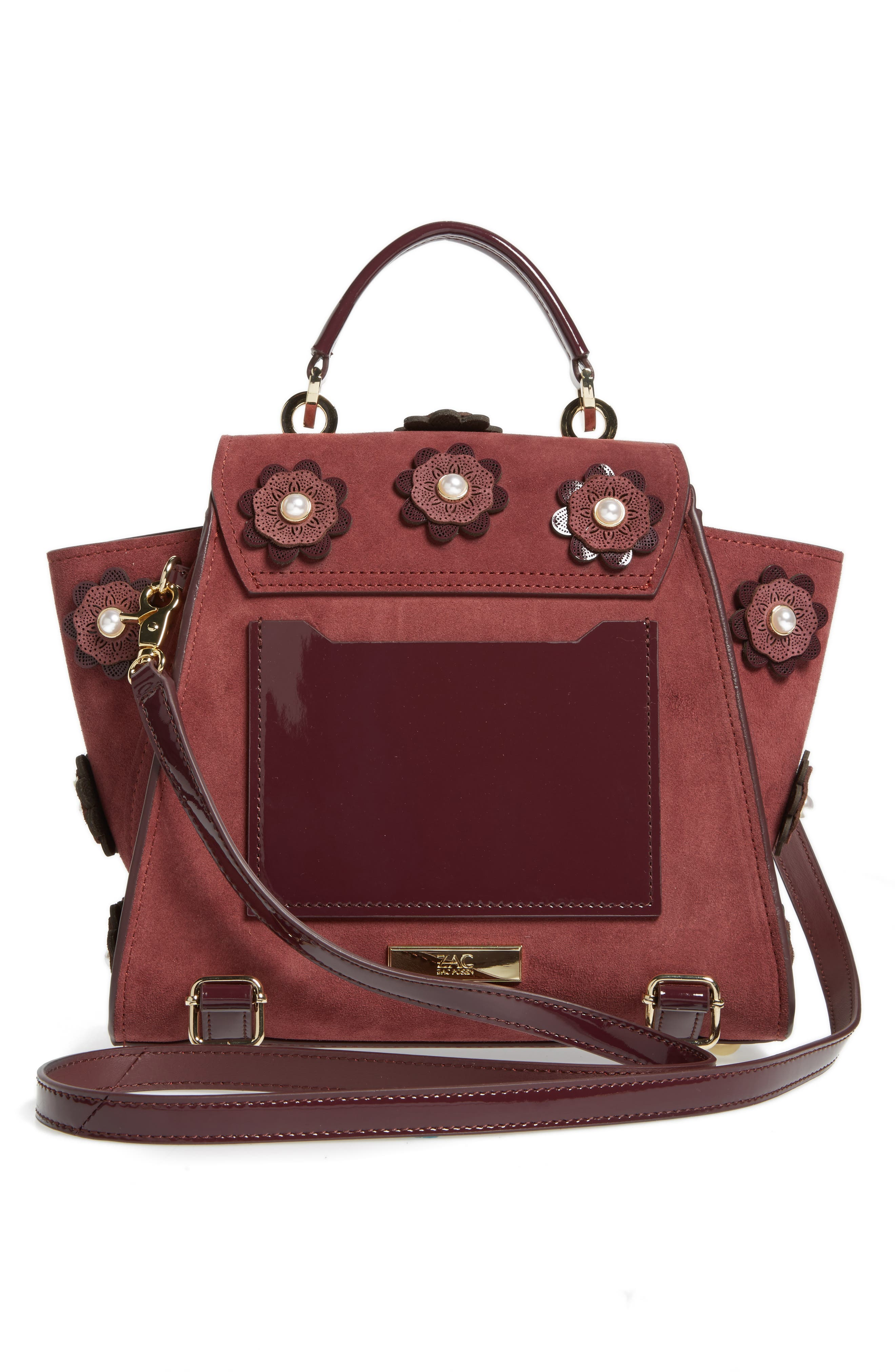 Eartha Iconic Convertible Leather Backpack,                             Alternate thumbnail 6, color,