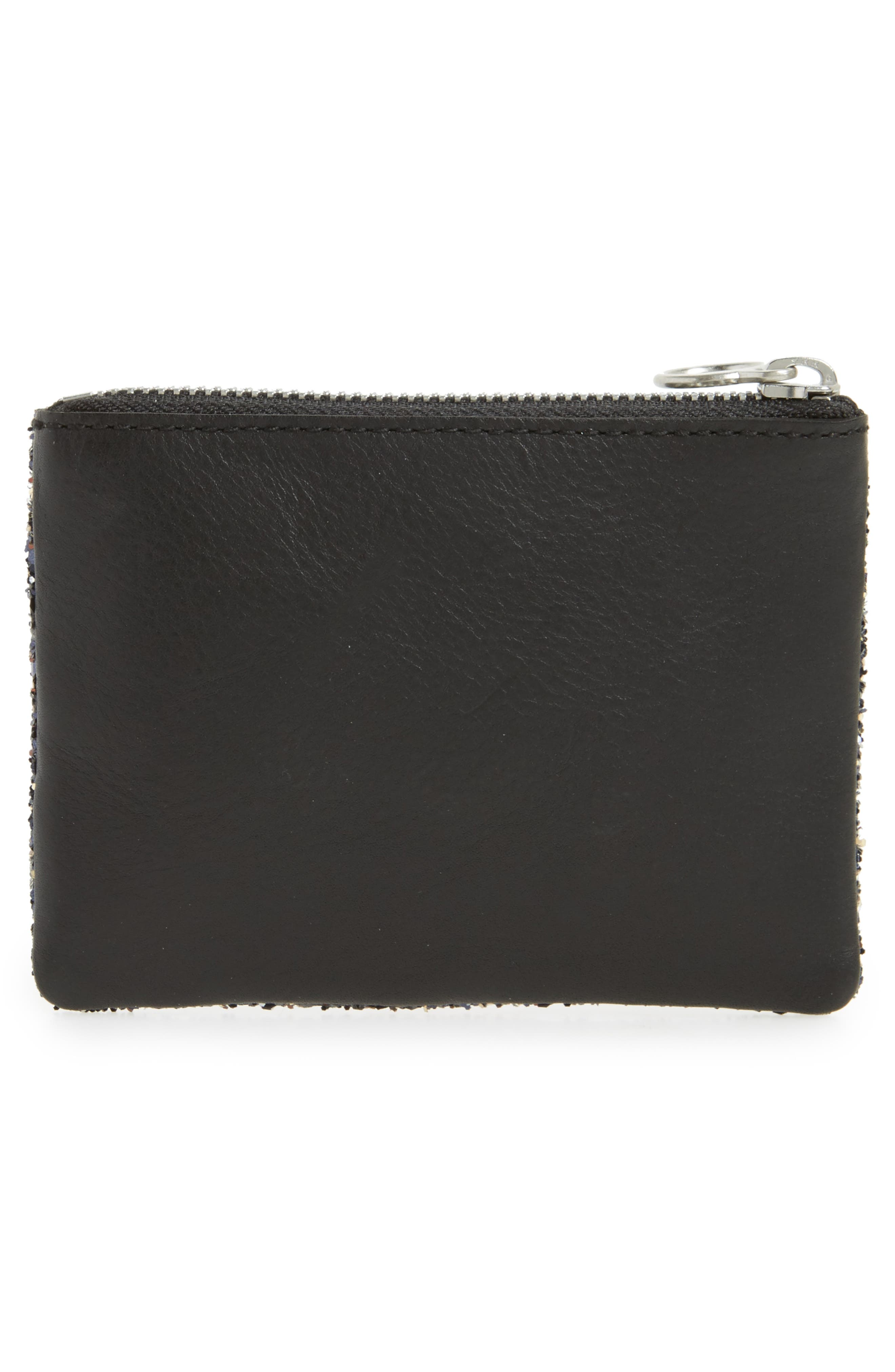 The Leather Zip Wallet,                             Alternate thumbnail 4, color,
