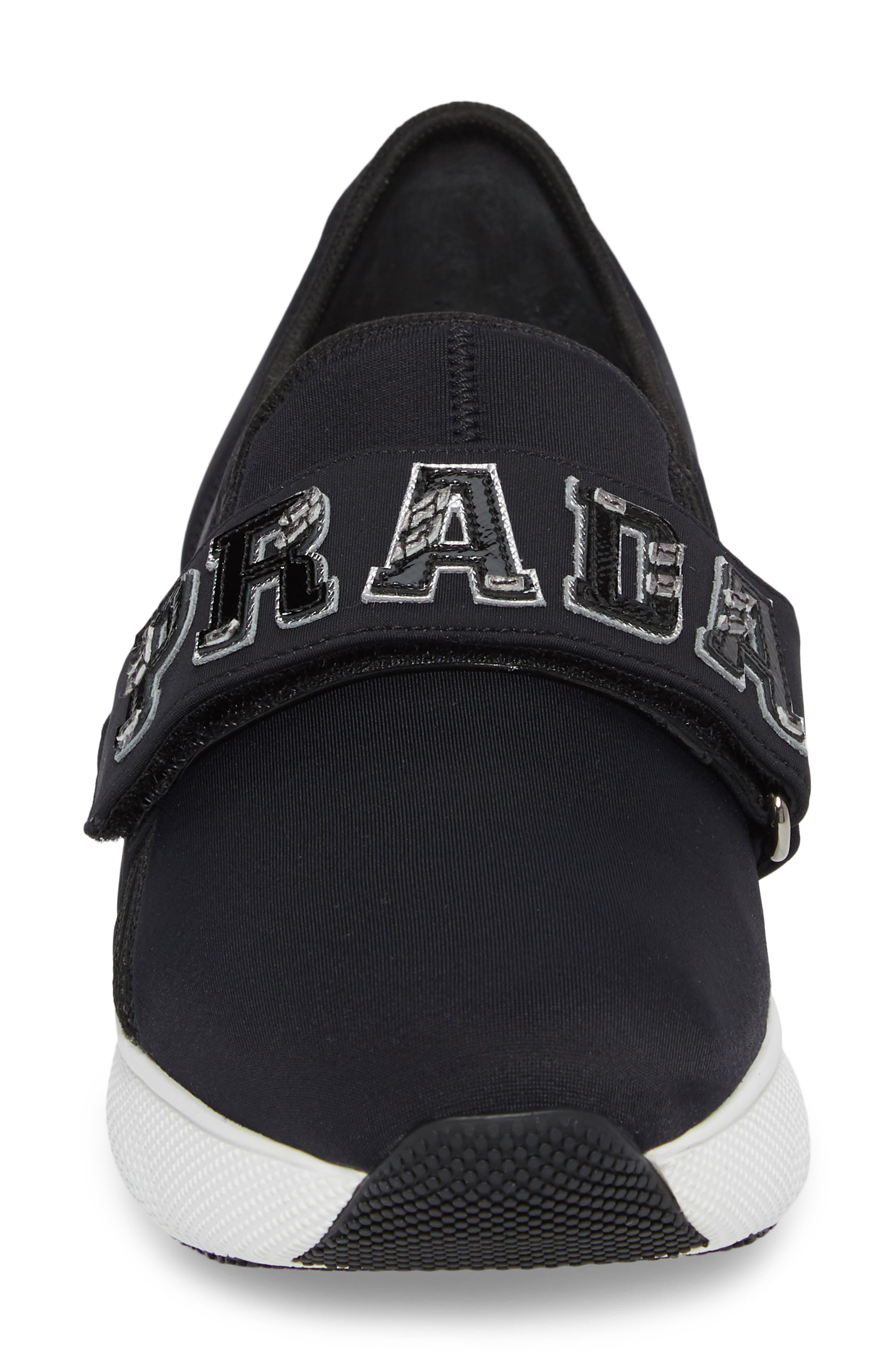 Logo Strap Low Top Sneaker,                             Alternate thumbnail 7, color,