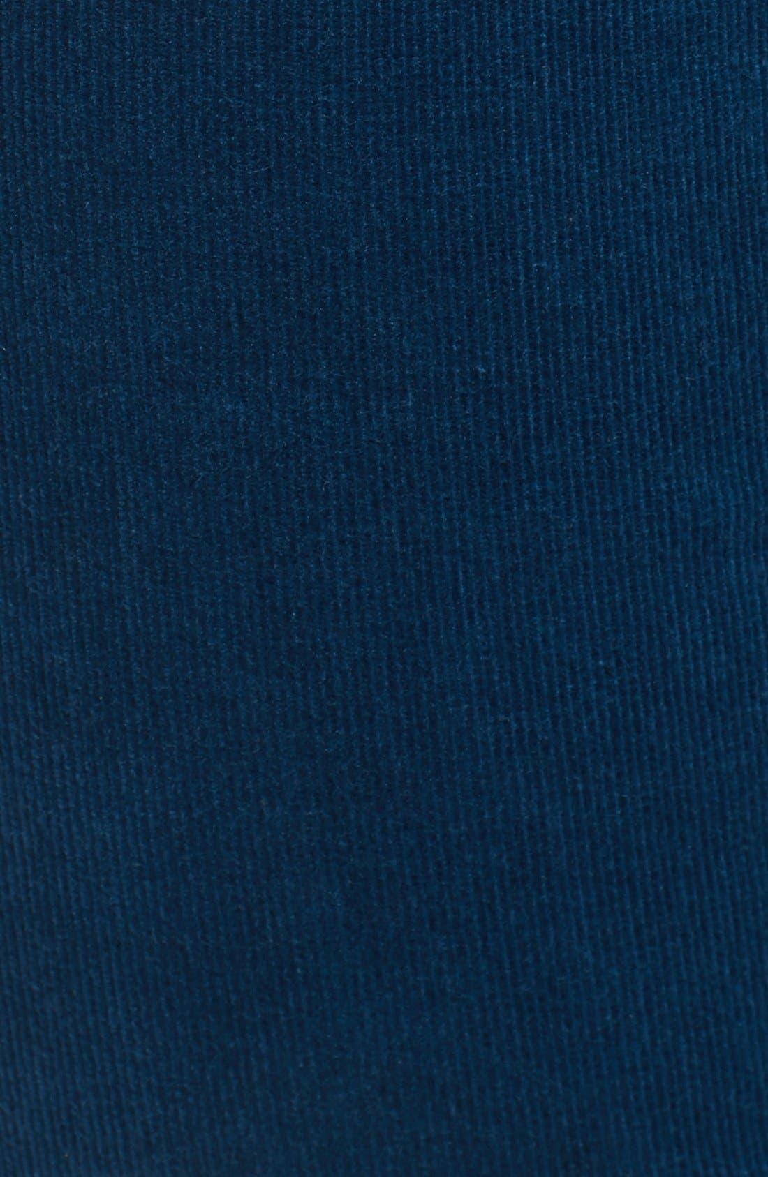 'Diana' Stretch Corduroy Skinny Pants,                             Alternate thumbnail 233, color,