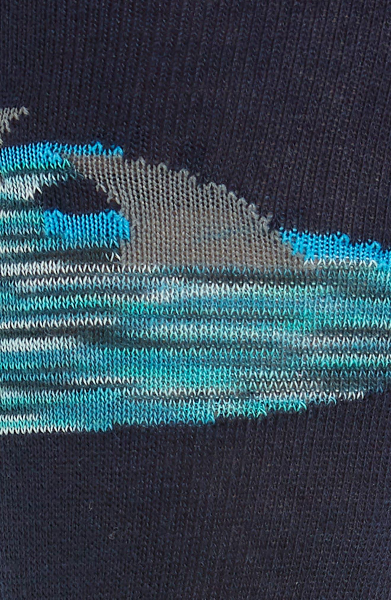 Sharks Crew Socks,                             Alternate thumbnail 2, color,