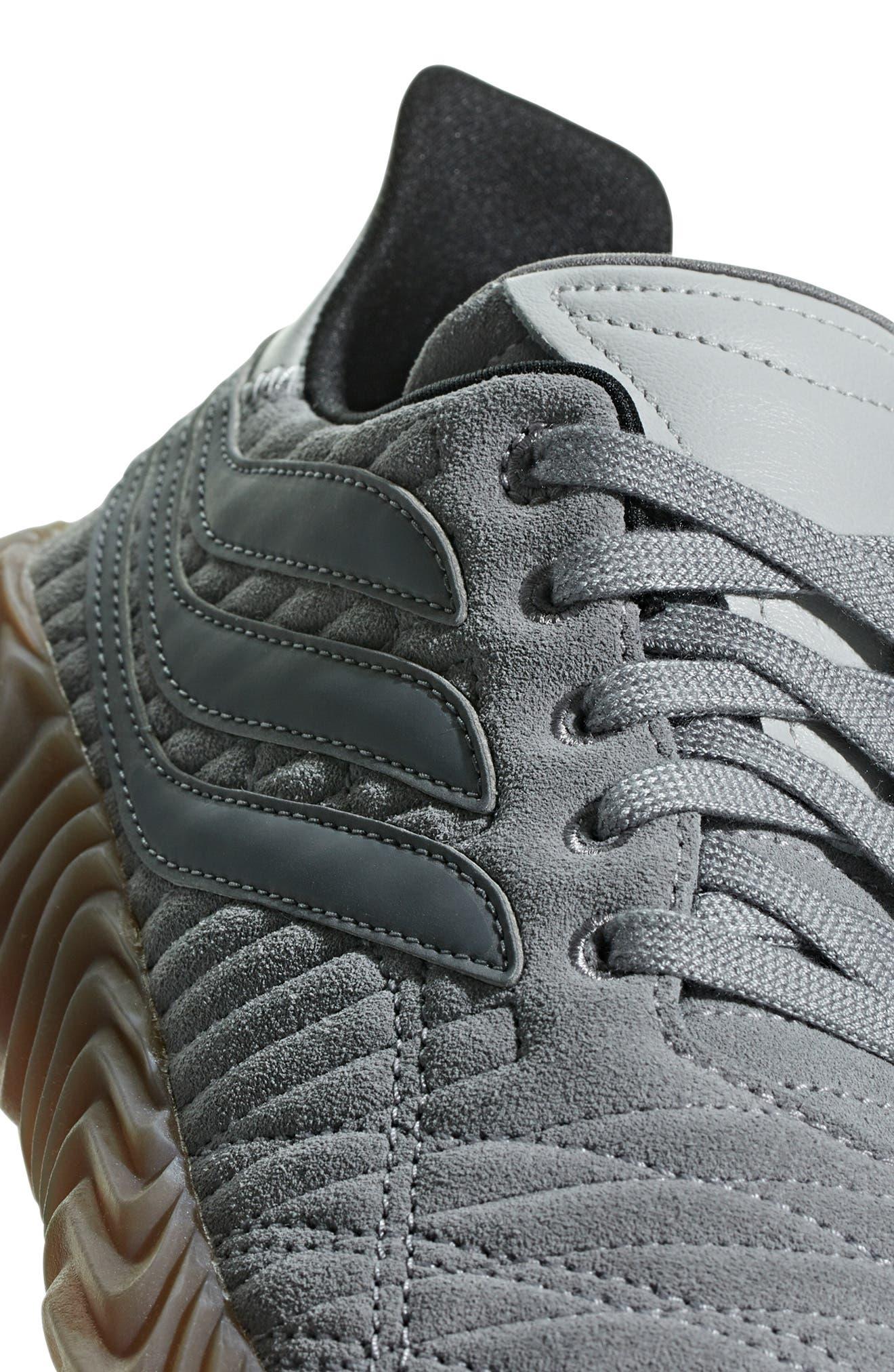 Sobakov Sneaker,                             Alternate thumbnail 6, color,                             GREY/ GREY