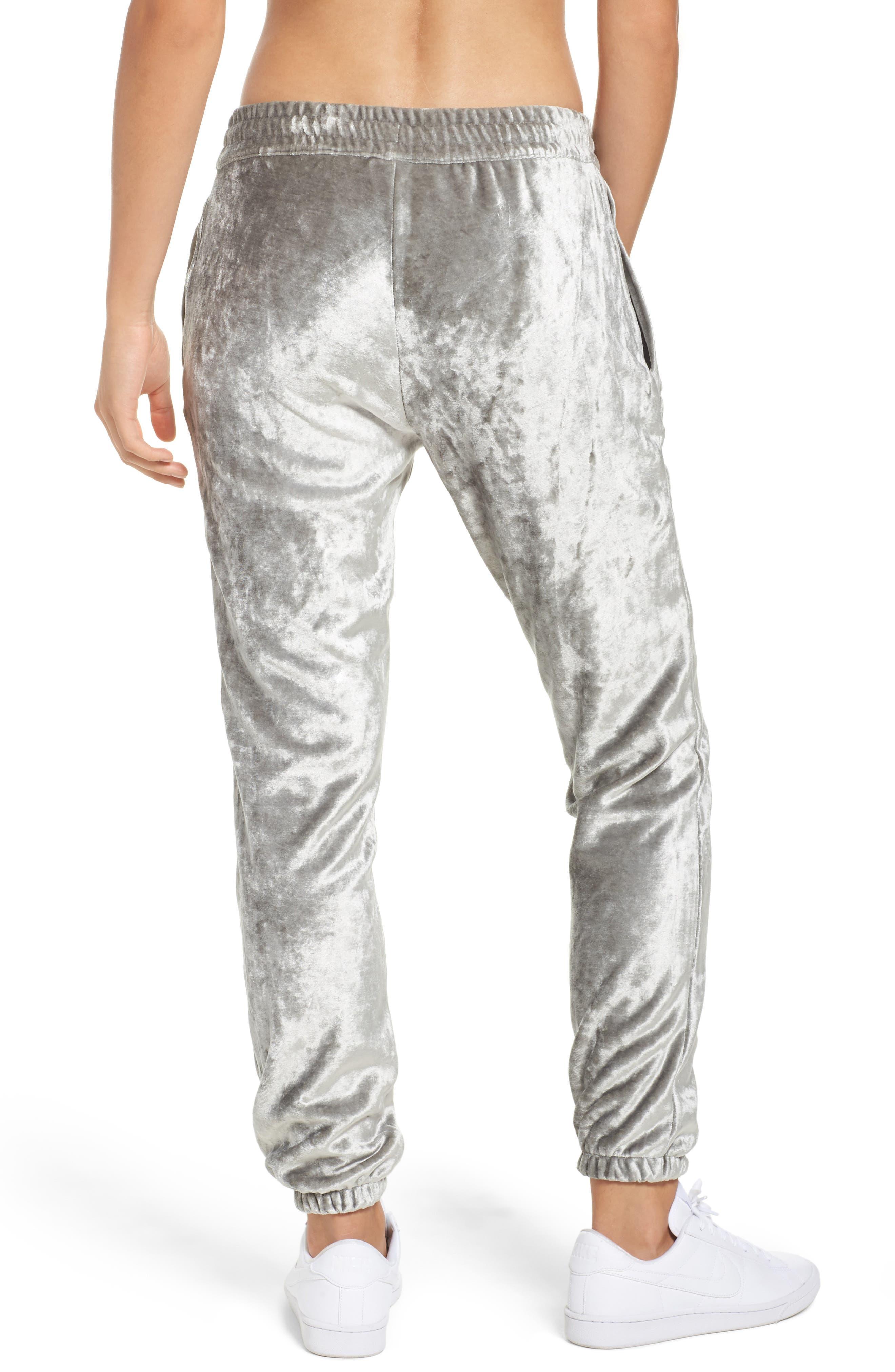 NikeLab Essentials Women's Velour Pants,                             Alternate thumbnail 2, color,                             020