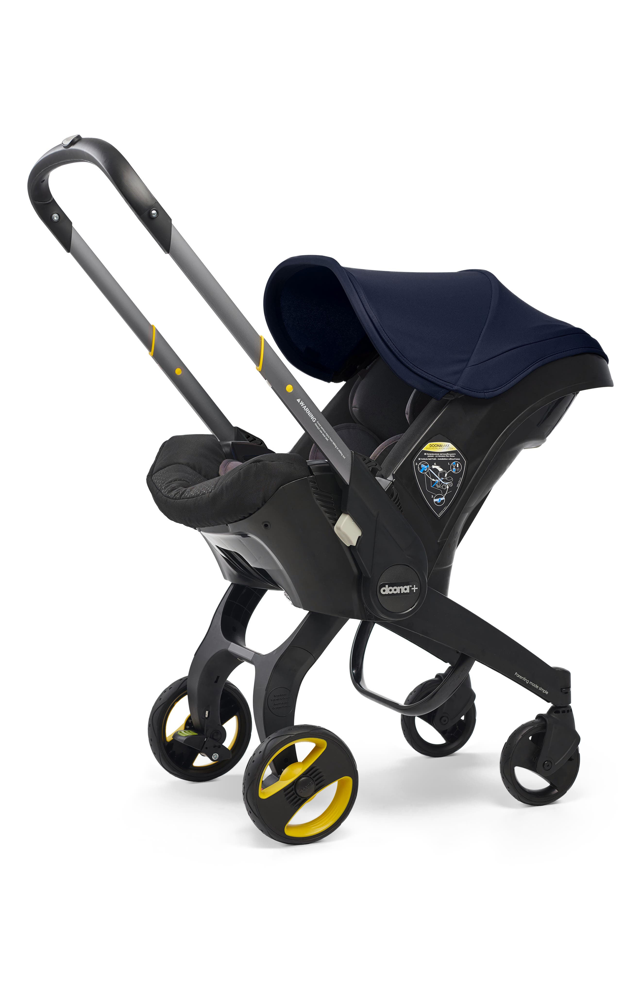 Infant Doona Convertible Infant Car Seatcompact Stroller System With Base