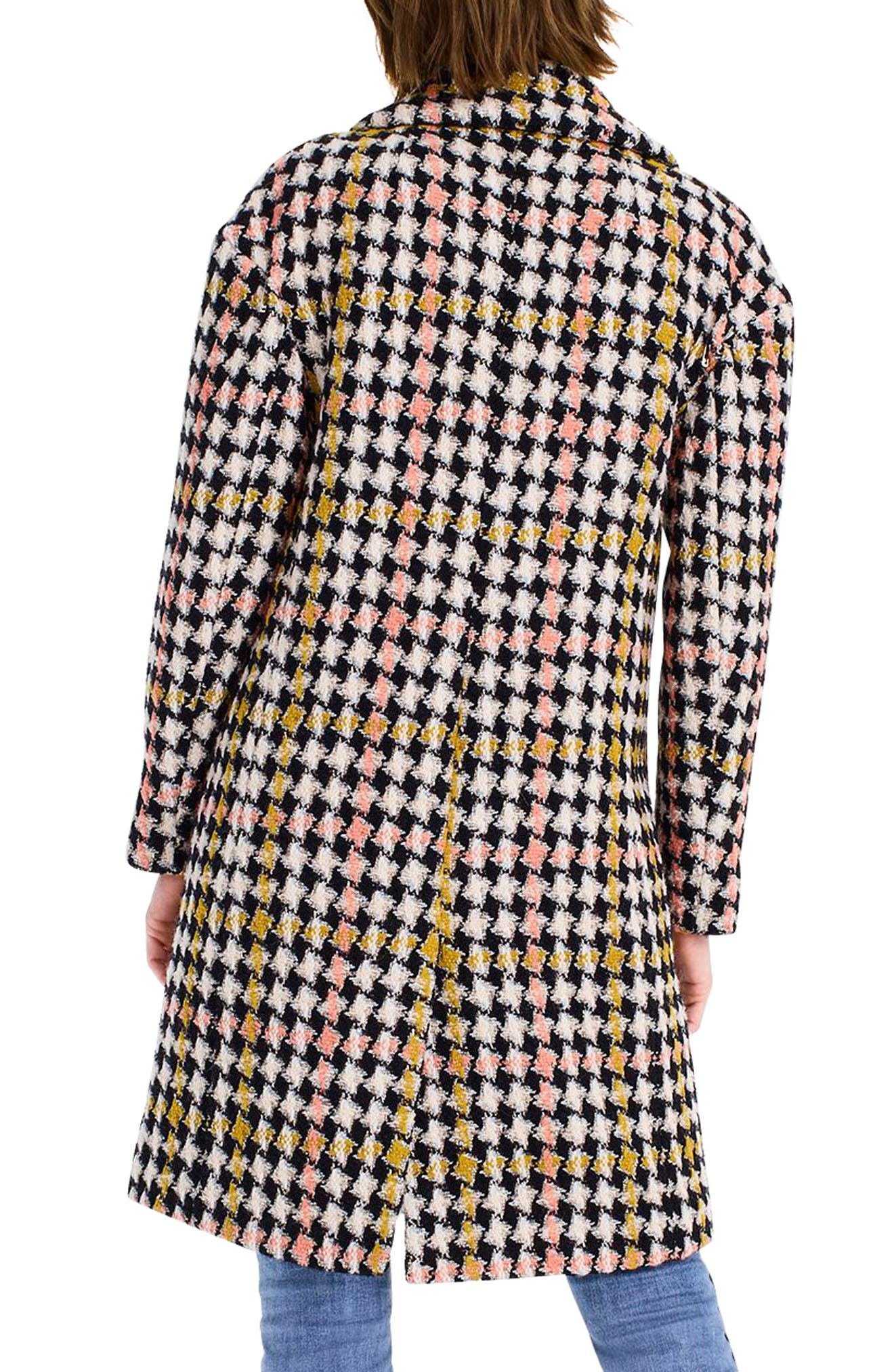 Collection Oversize Lurex<sup>®</sup> Tweed Coat,                             Alternate thumbnail 2, color,                             650