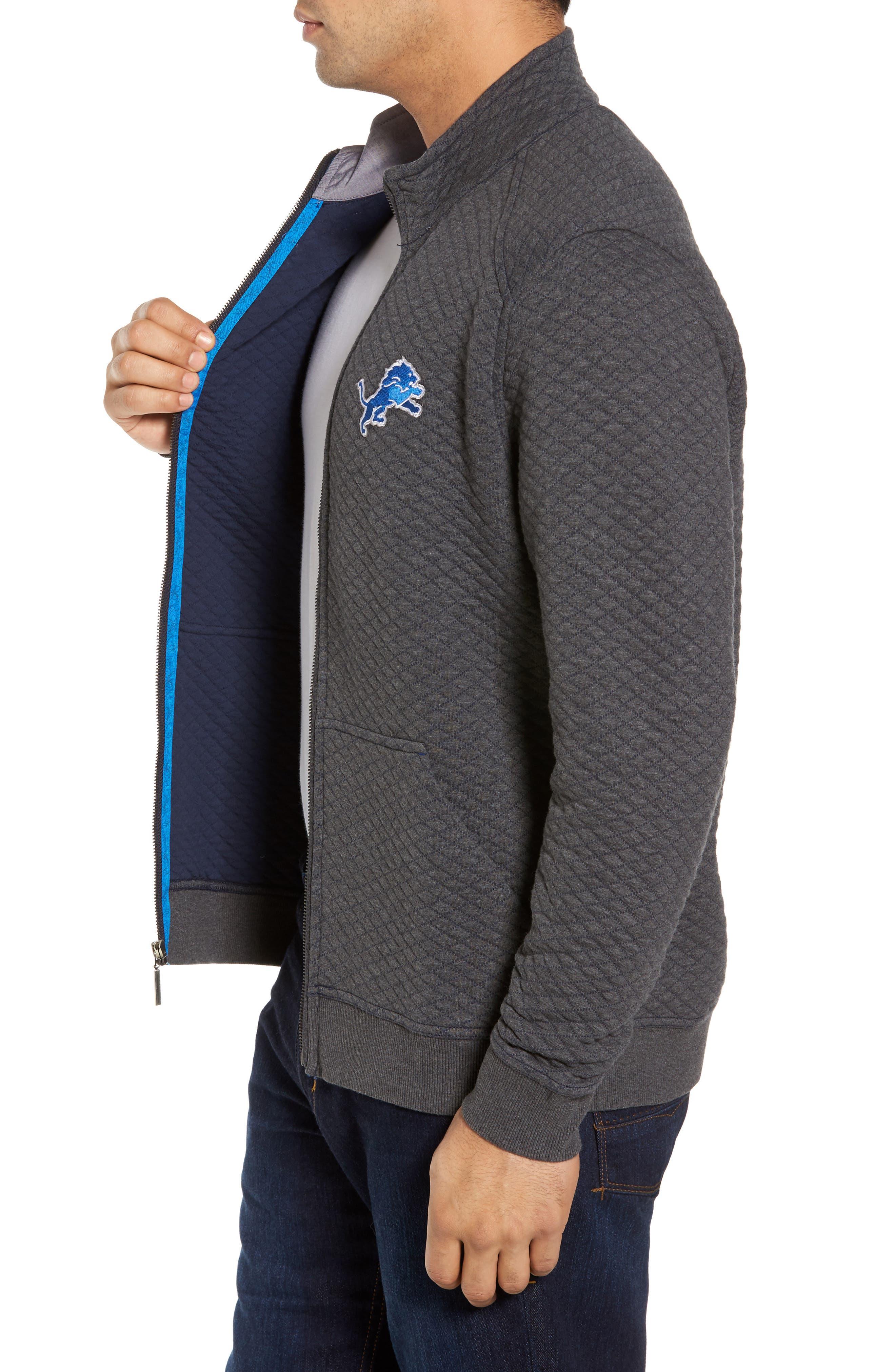 NFL Quiltessential Full Zip Sweatshirt,                             Alternate thumbnail 80, color,