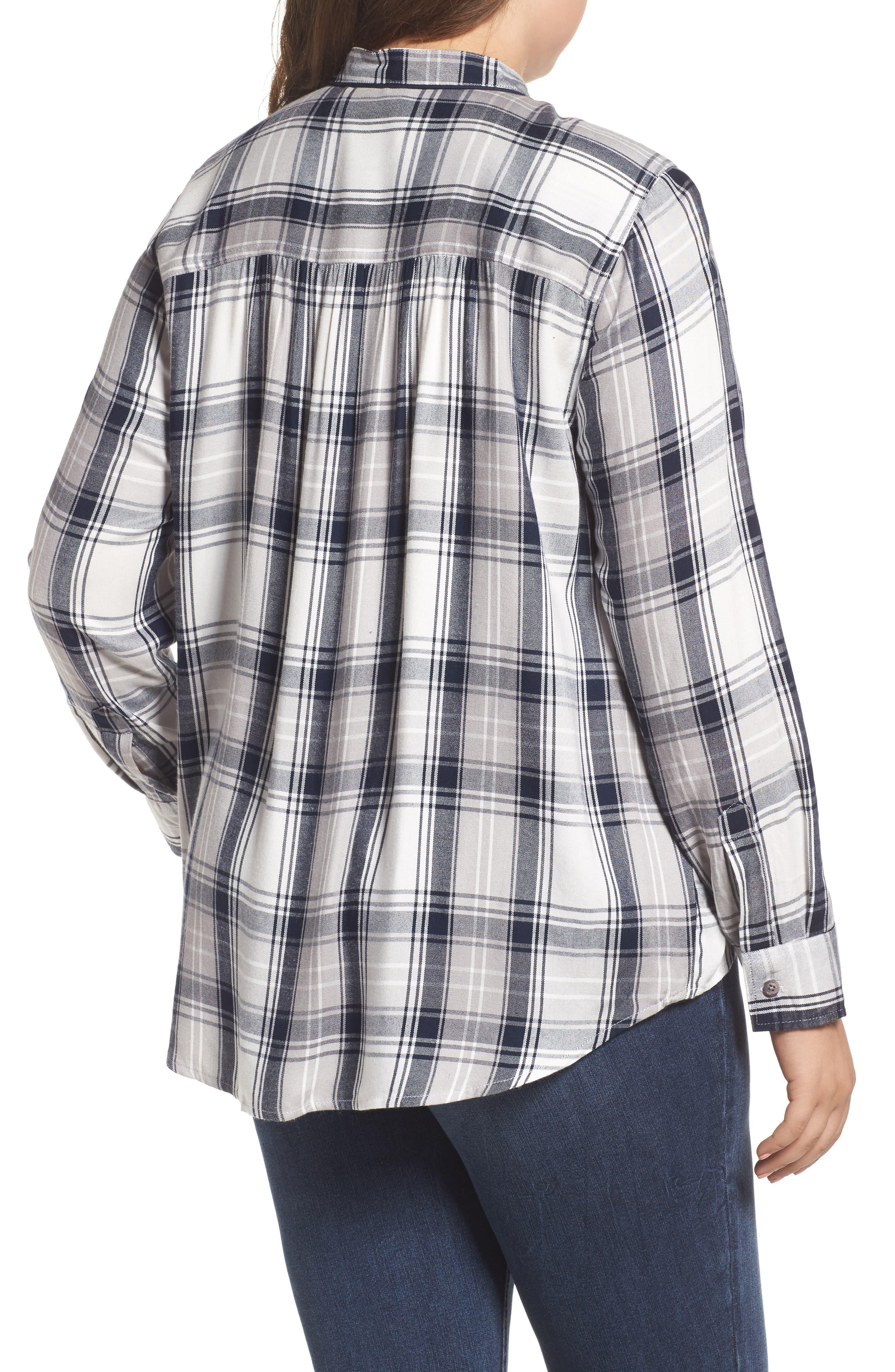 Plaid Shirt,                             Alternate thumbnail 2, color,                             107
