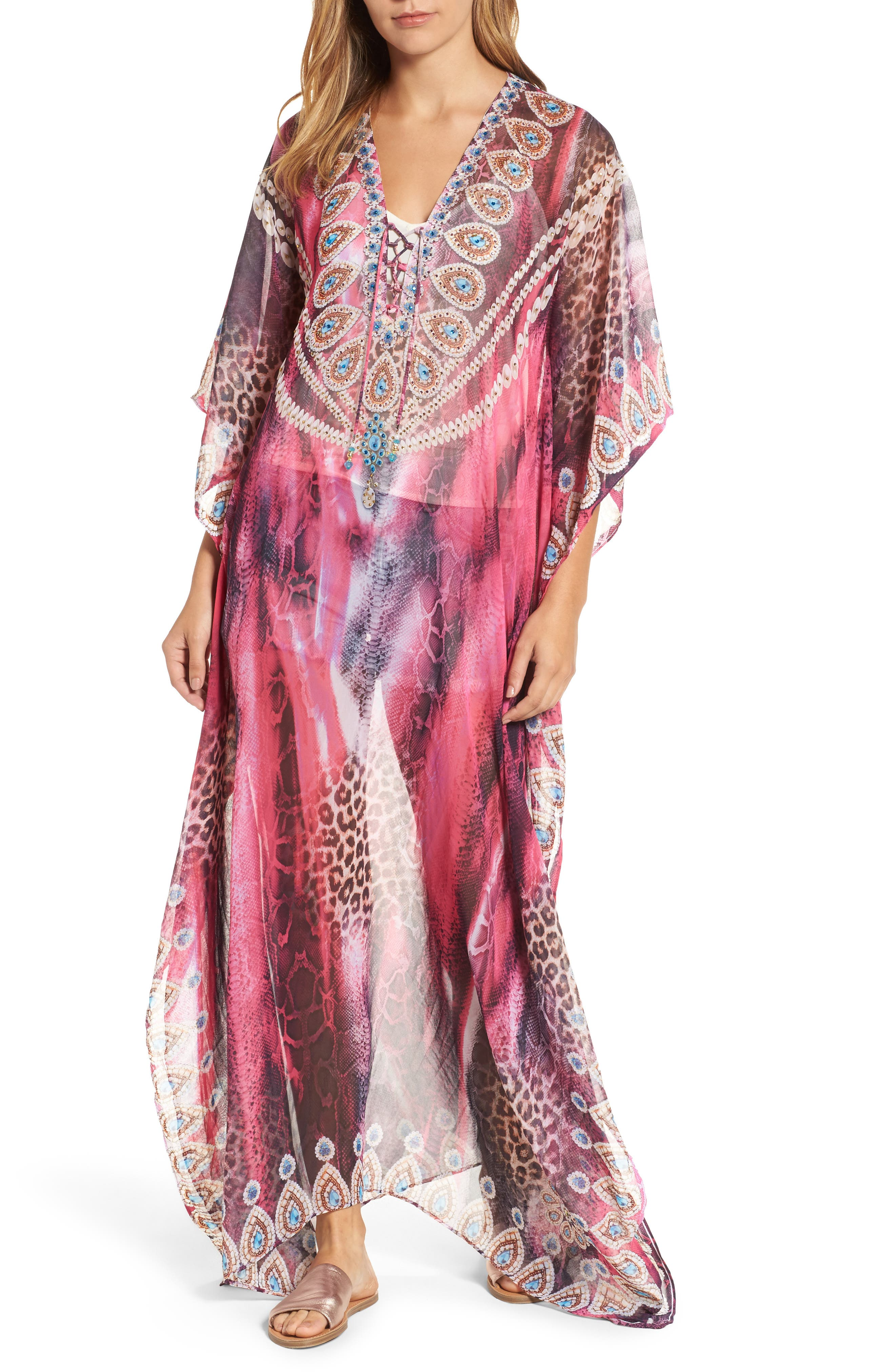 Marrakesh Long Kaftan,                             Main thumbnail 1, color,