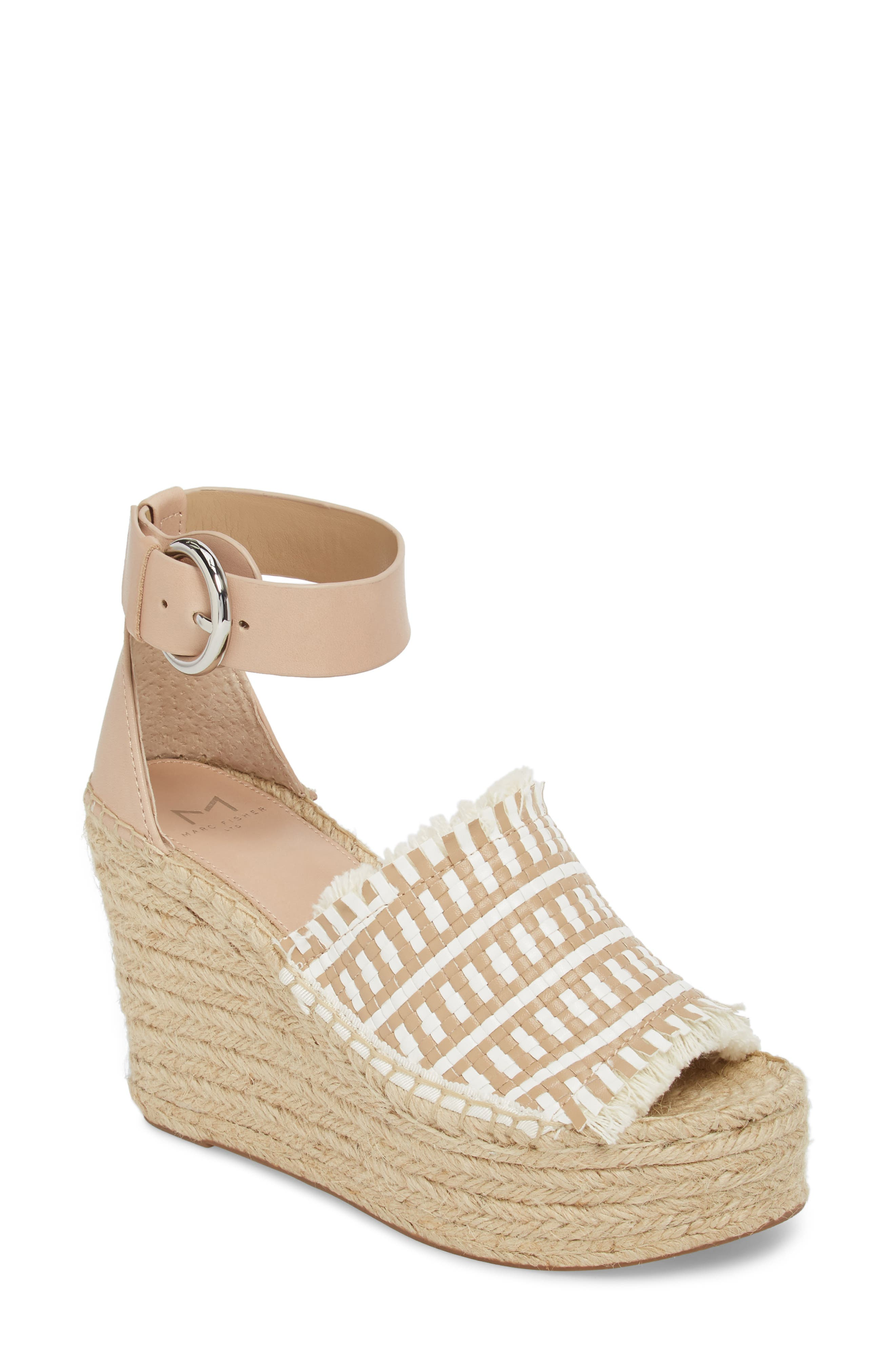 Andrew Espadrille Wedge Sandal,                             Main thumbnail 2, color,