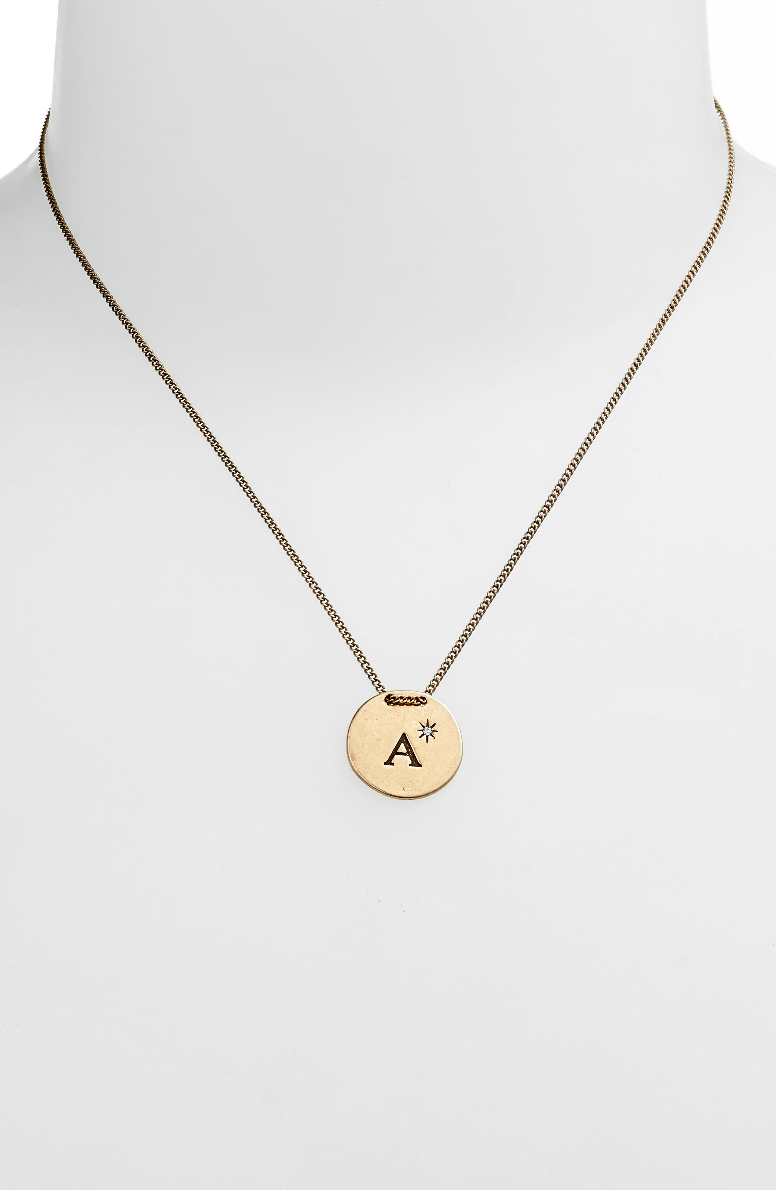 Initial Collar Necklace,                             Alternate thumbnail 66, color,