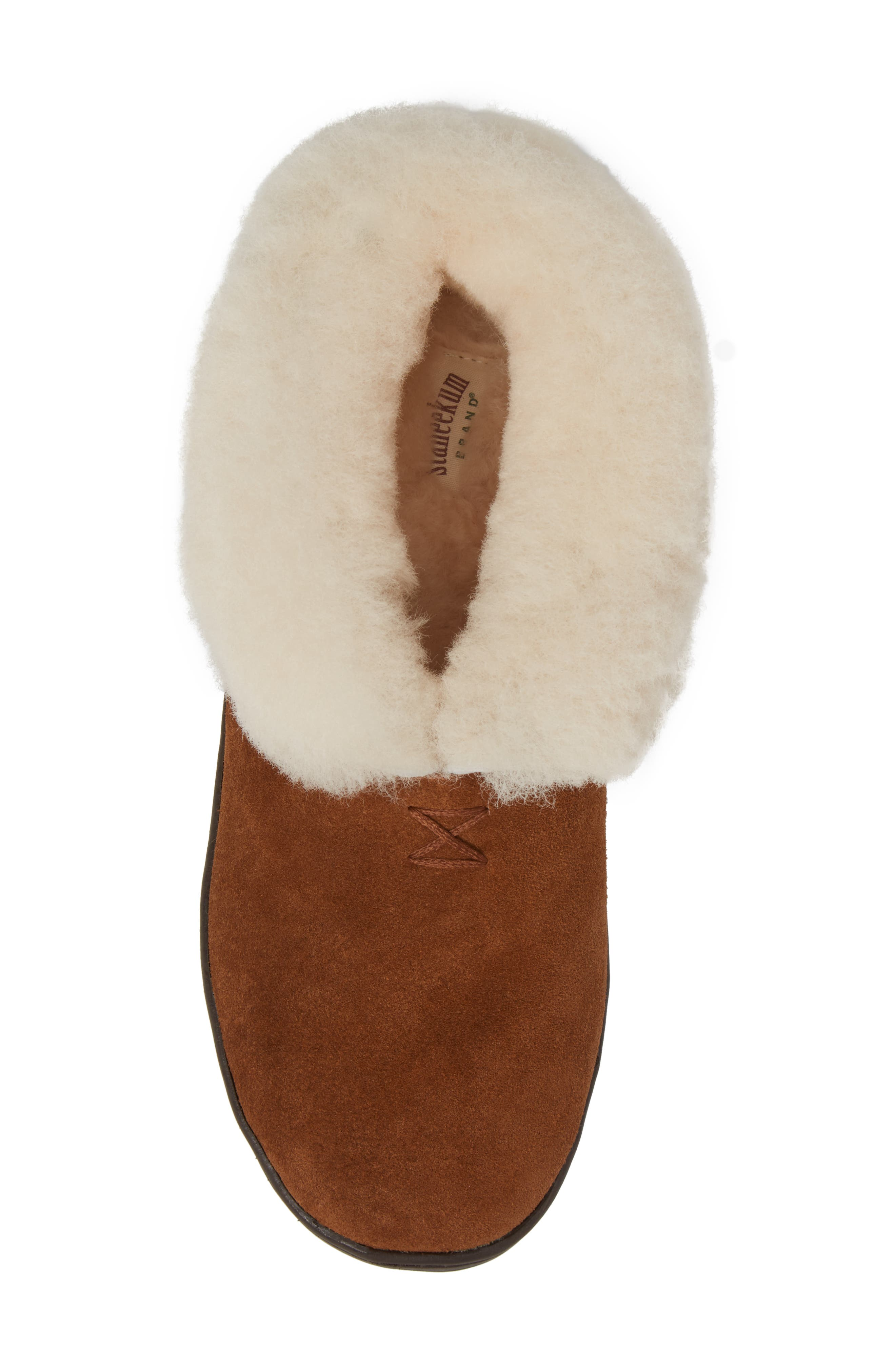 Tundra Slipper Bootie with Genuine Shearling Lining,                             Alternate thumbnail 5, color,                             212