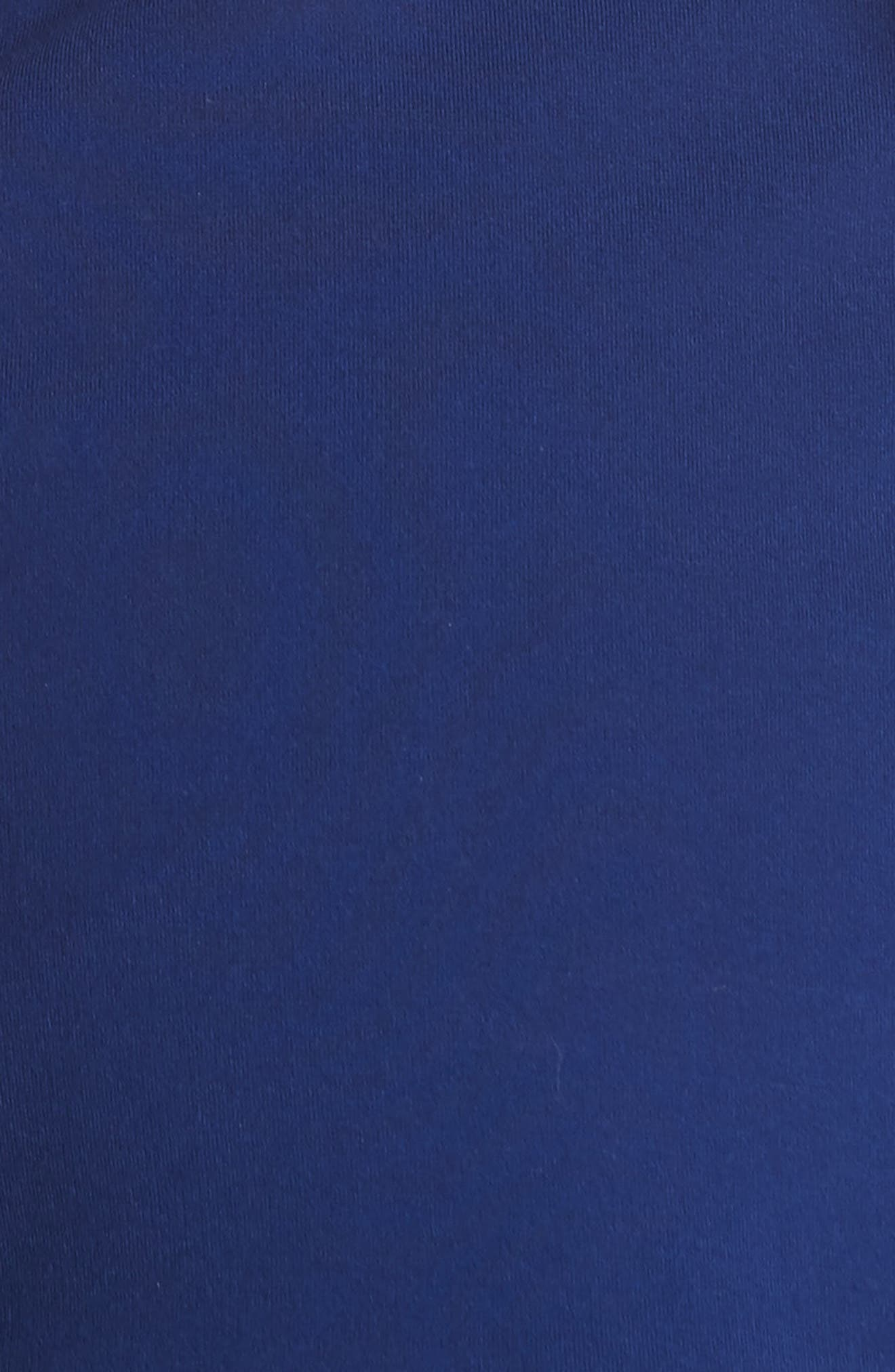 Onella Peplum Hem Fit & Flare Dress,                             Alternate thumbnail 5, color,                             460