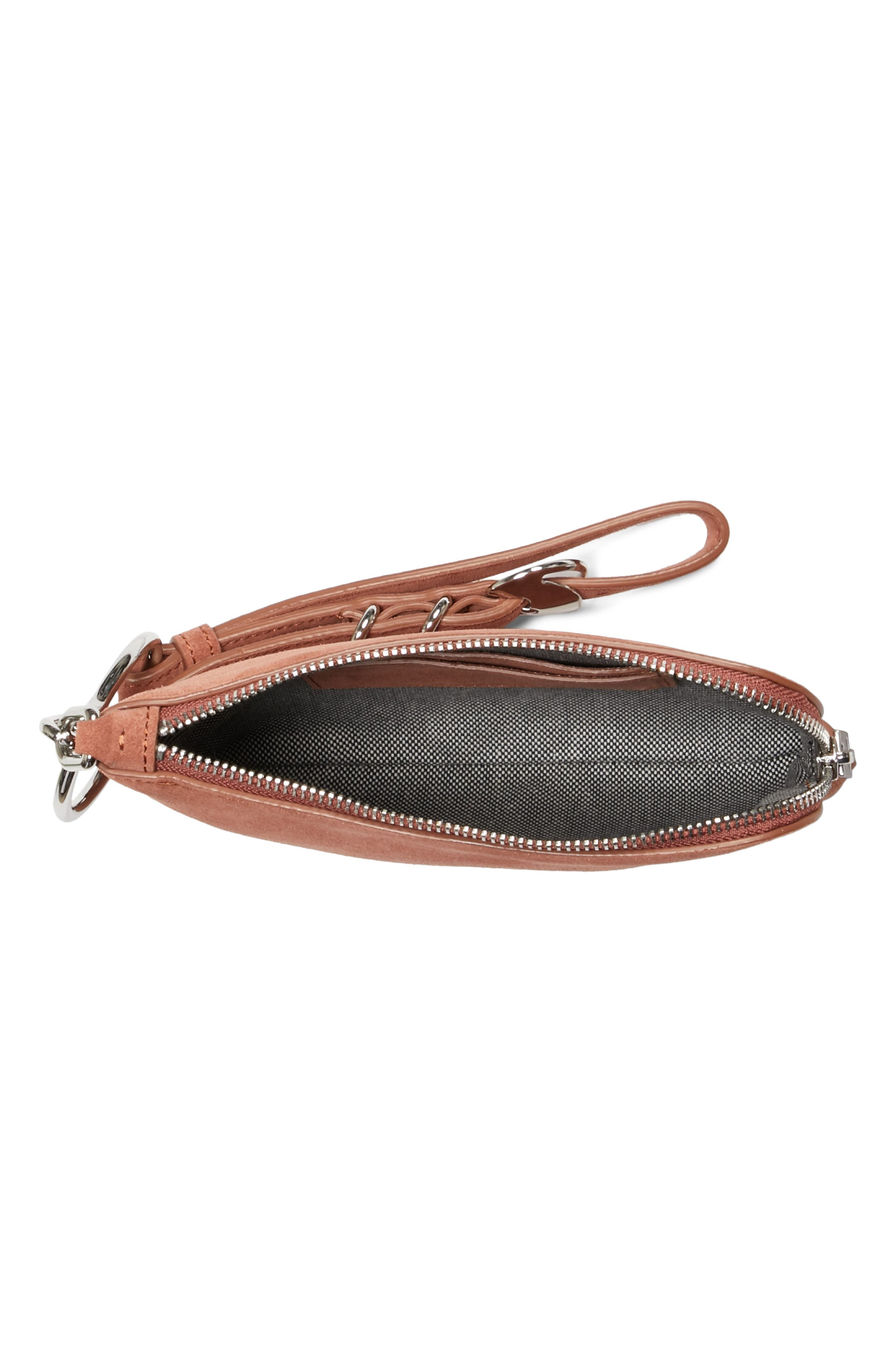 Small Ace Suede Wristlet,                             Alternate thumbnail 2, color,                             200