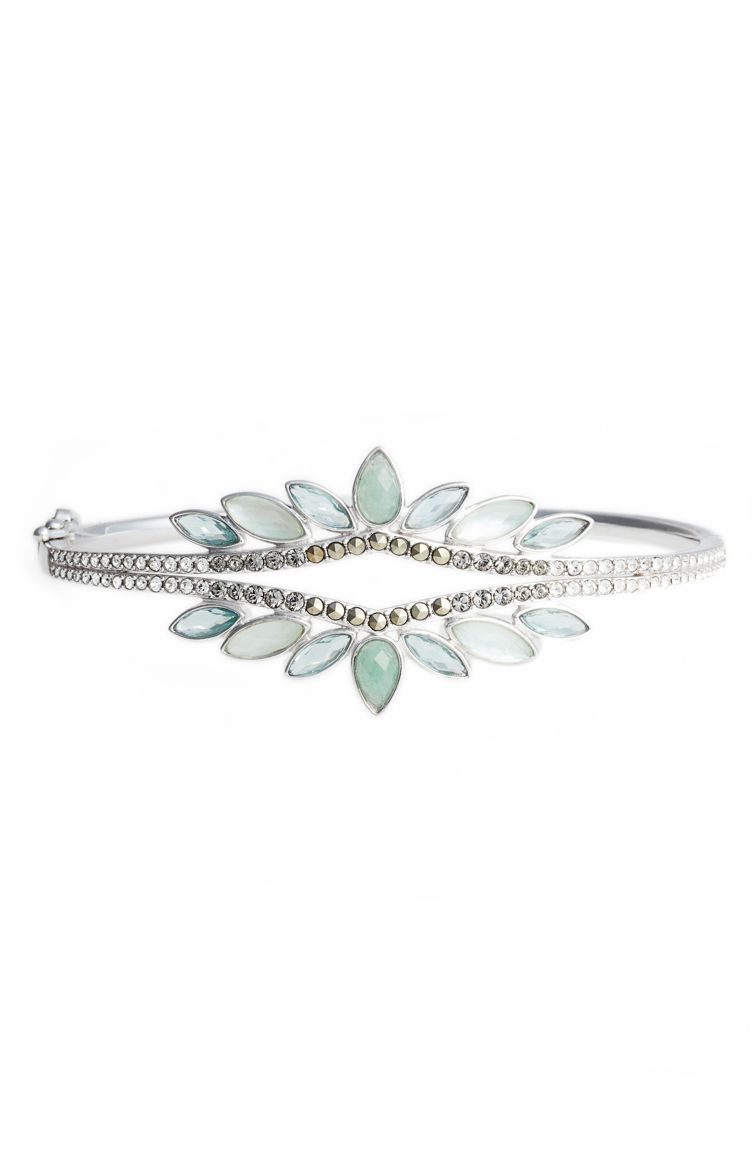 Lakeside Openwork Crystal Bracelet,                         Main,                         color, 300