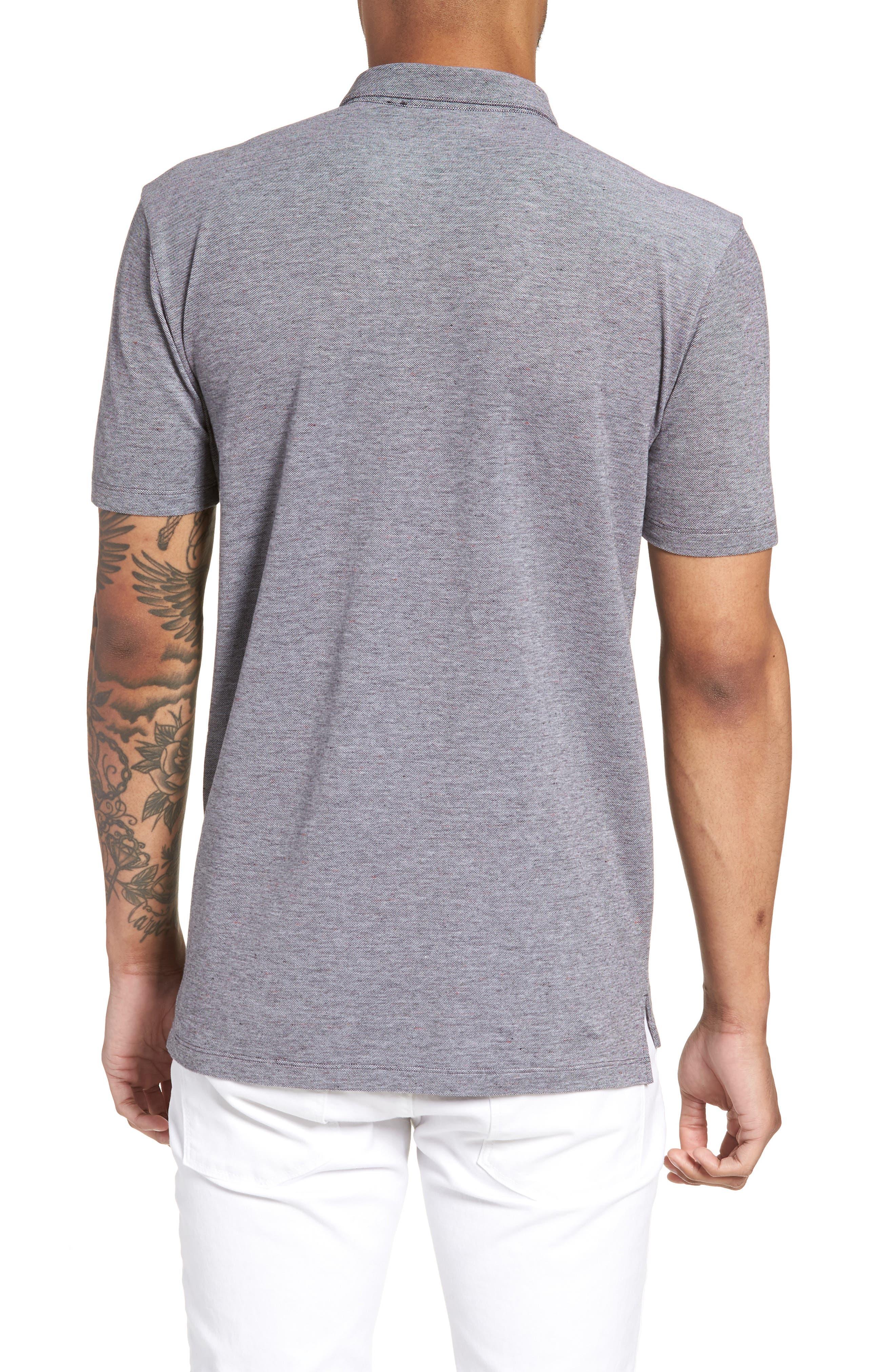 Darrow Cotton Polo Shirt,                             Alternate thumbnail 2, color,                             001