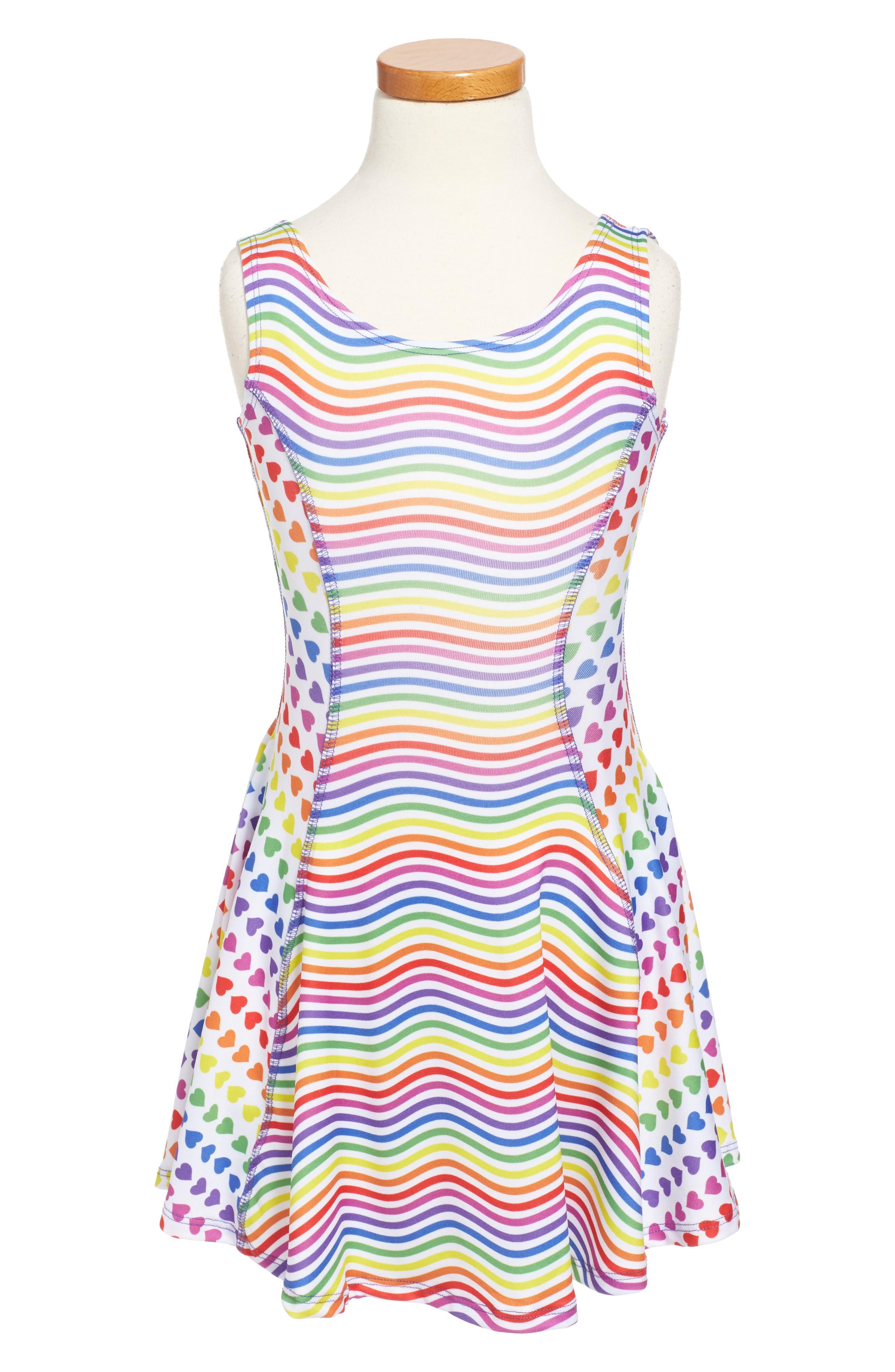 Flow Mixed Print Dress,                             Alternate thumbnail 35, color,