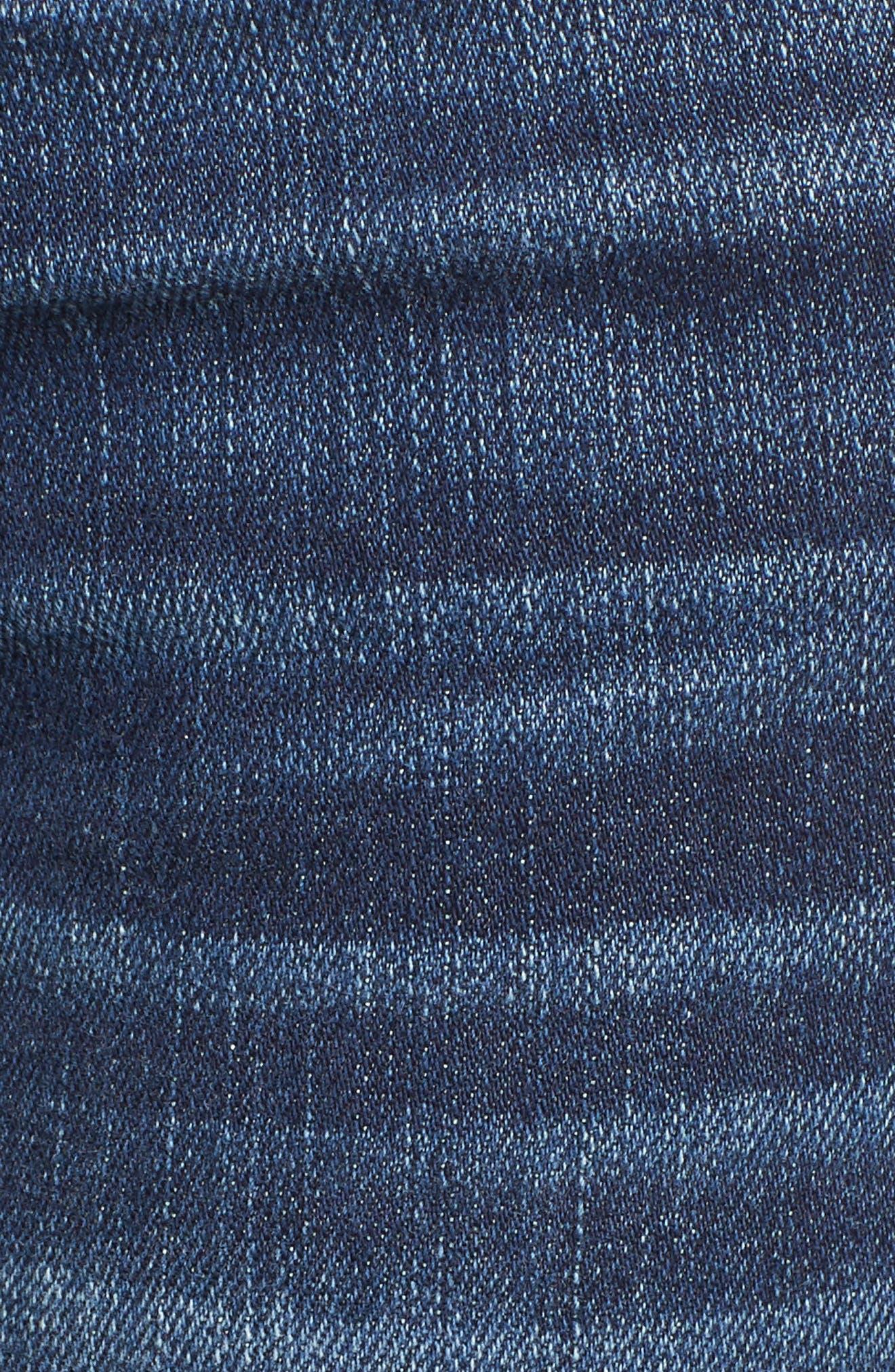 Transcend Vintage - Skyline Skinny Jeans,                             Alternate thumbnail 6, color,                             400