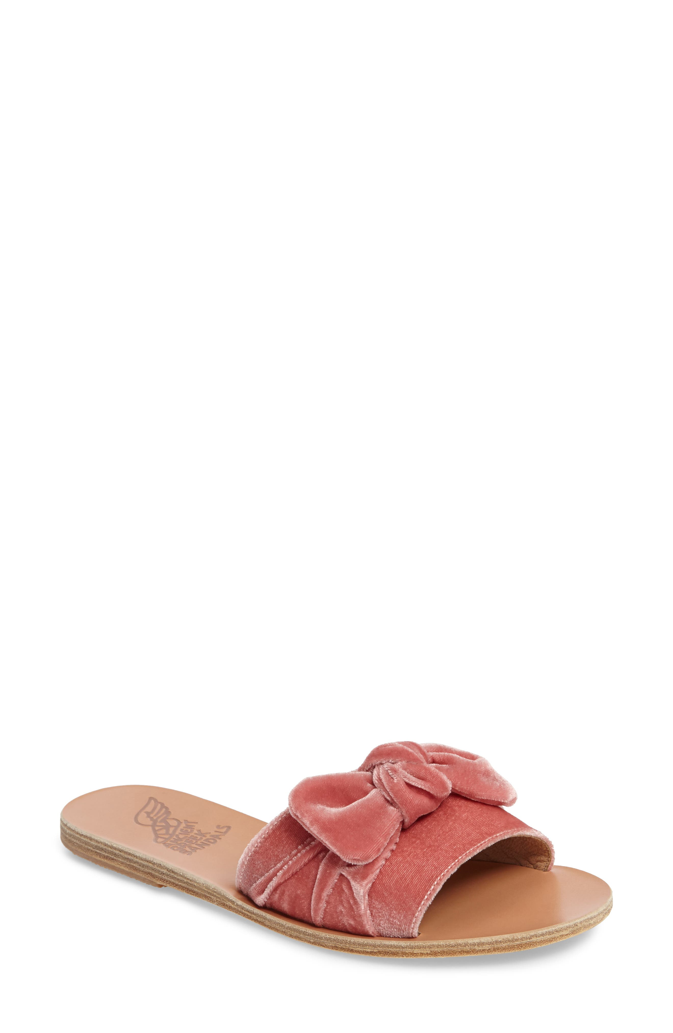 Taygete Bow Slide Sandal,                             Main thumbnail 3, color,