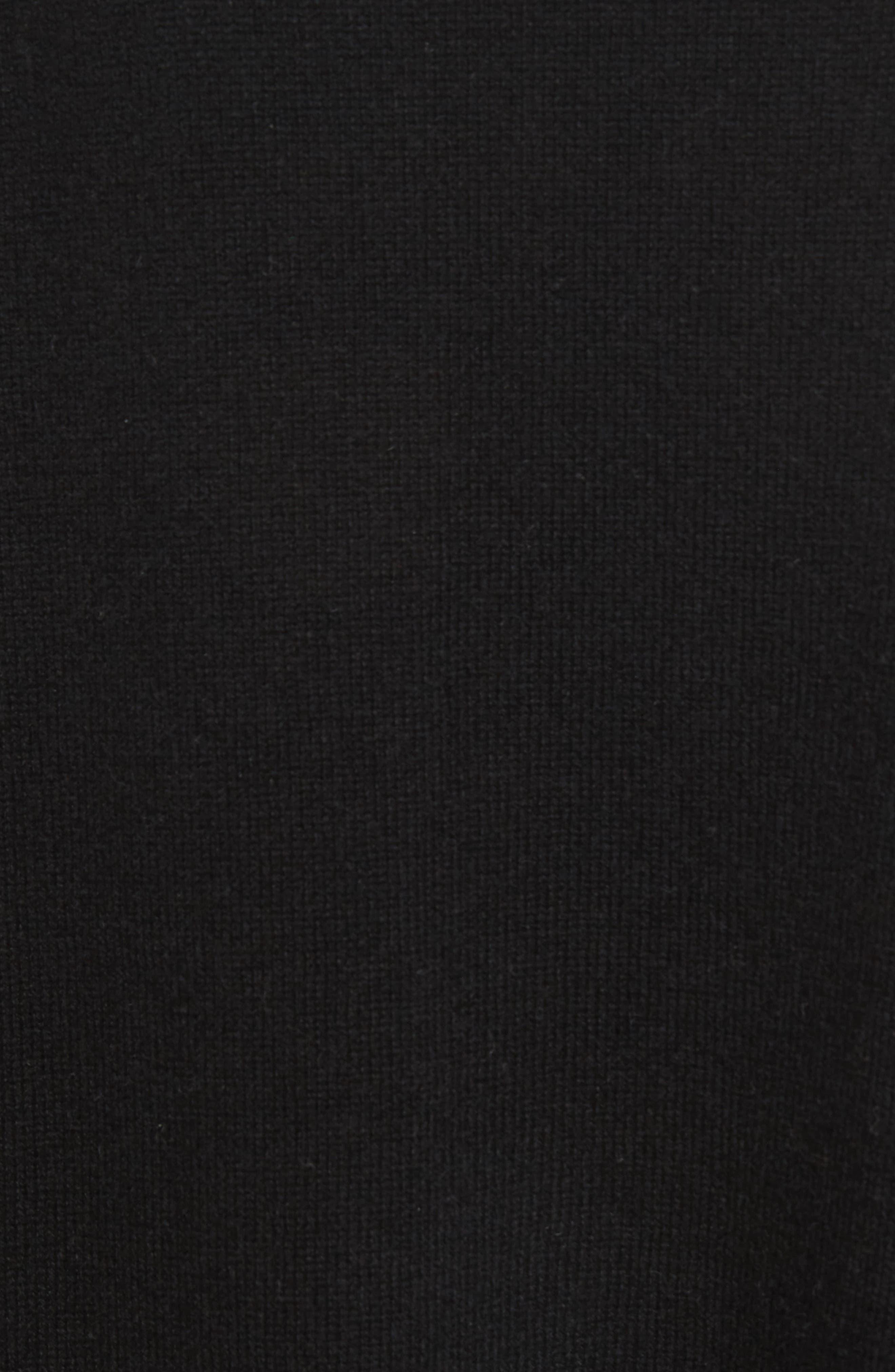 Celia G Wool & Cashmere Sweater,                             Alternate thumbnail 5, color,                             004