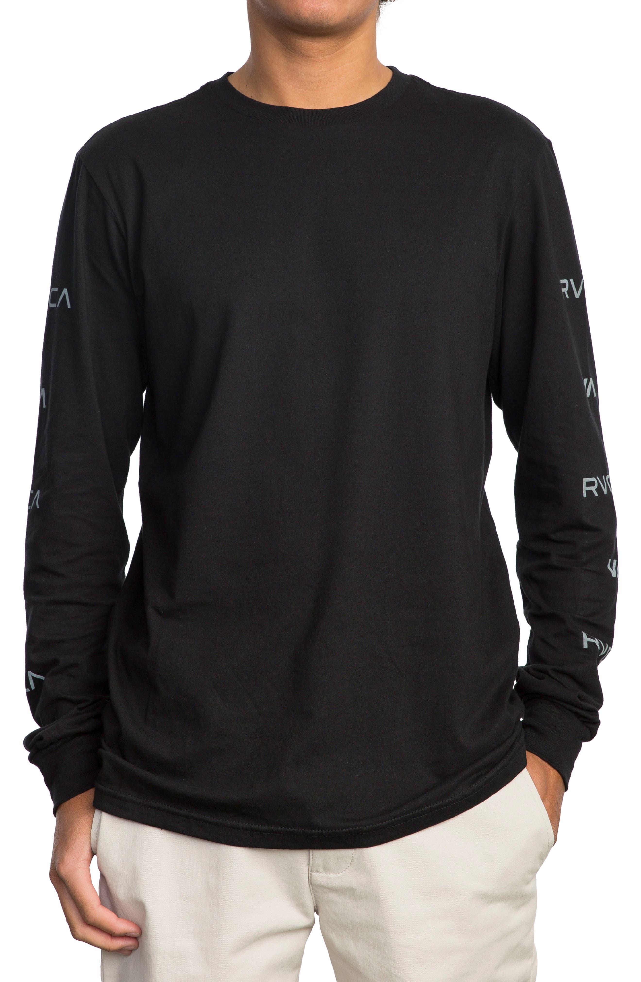 Brand Stack Graphic T-Shirt,                             Main thumbnail 1, color,                             001