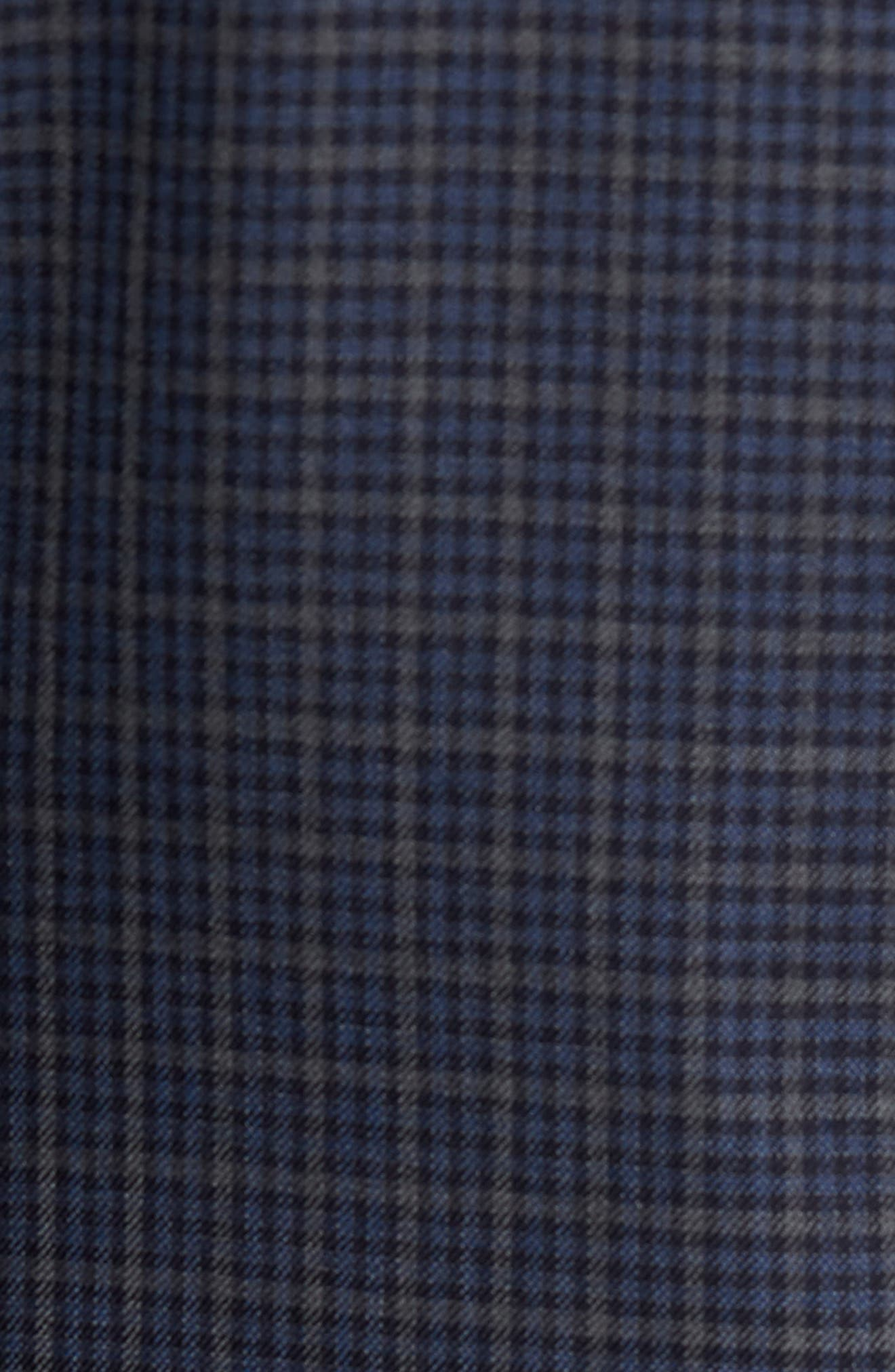 Classic Fit Check Wool Sport Coat,                             Alternate thumbnail 6, color,                             422
