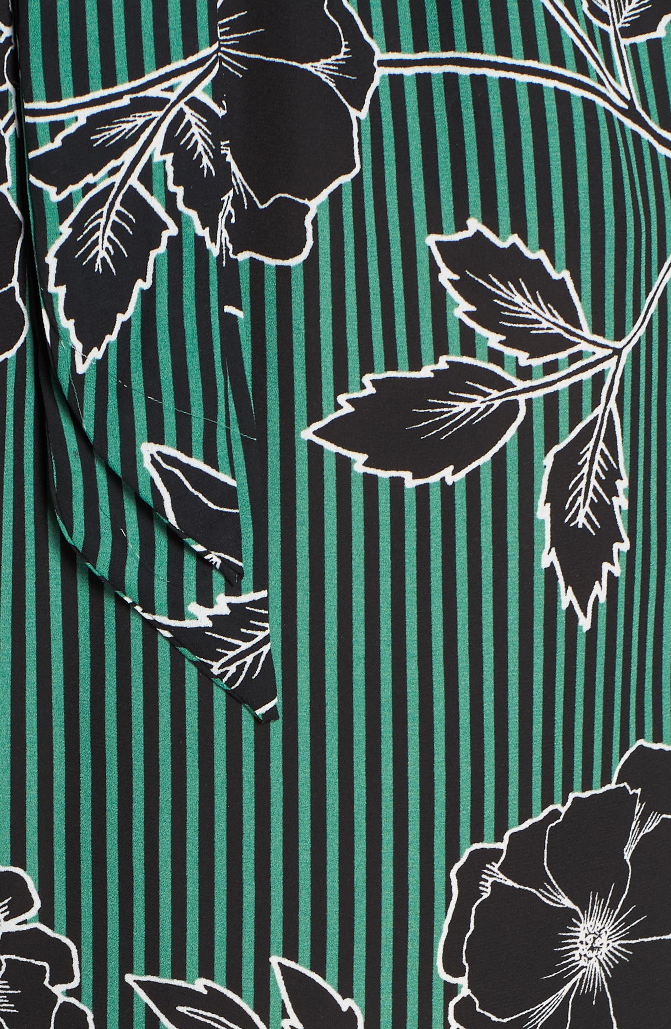 Floral Print Jumpsuit,                             Alternate thumbnail 7, color,                             VARSITY FLORAL