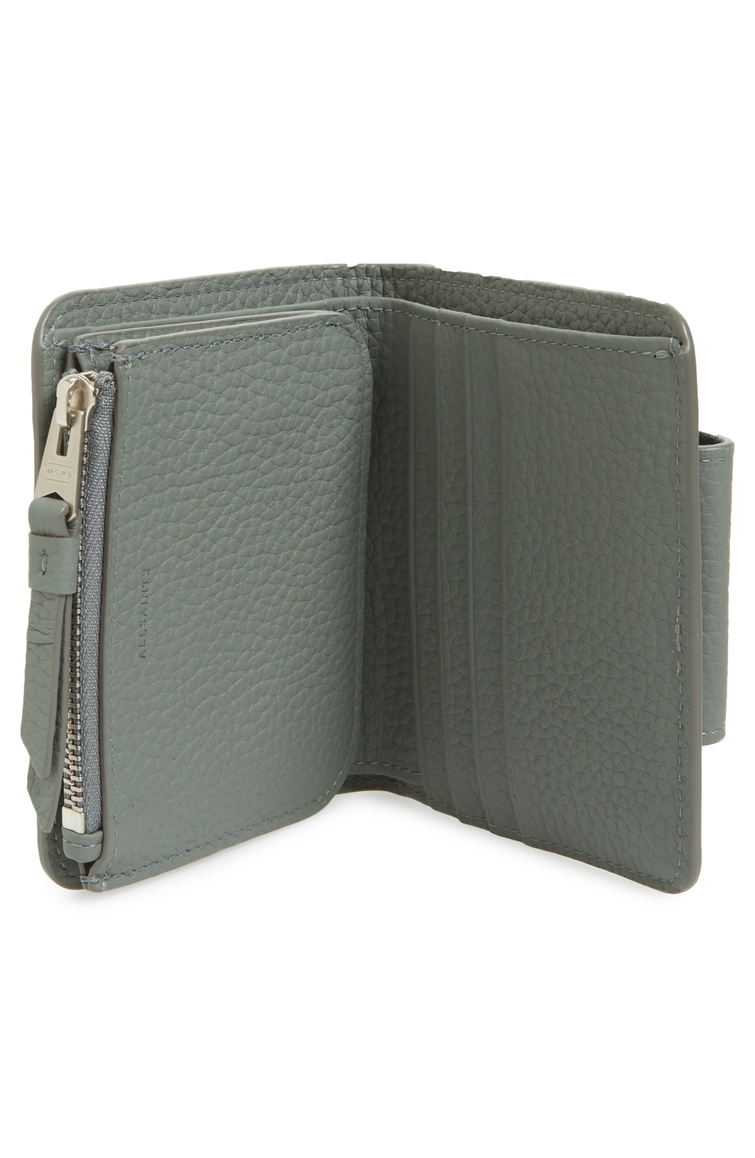 Small Ray Leather Wallet,                             Alternate thumbnail 6, color,