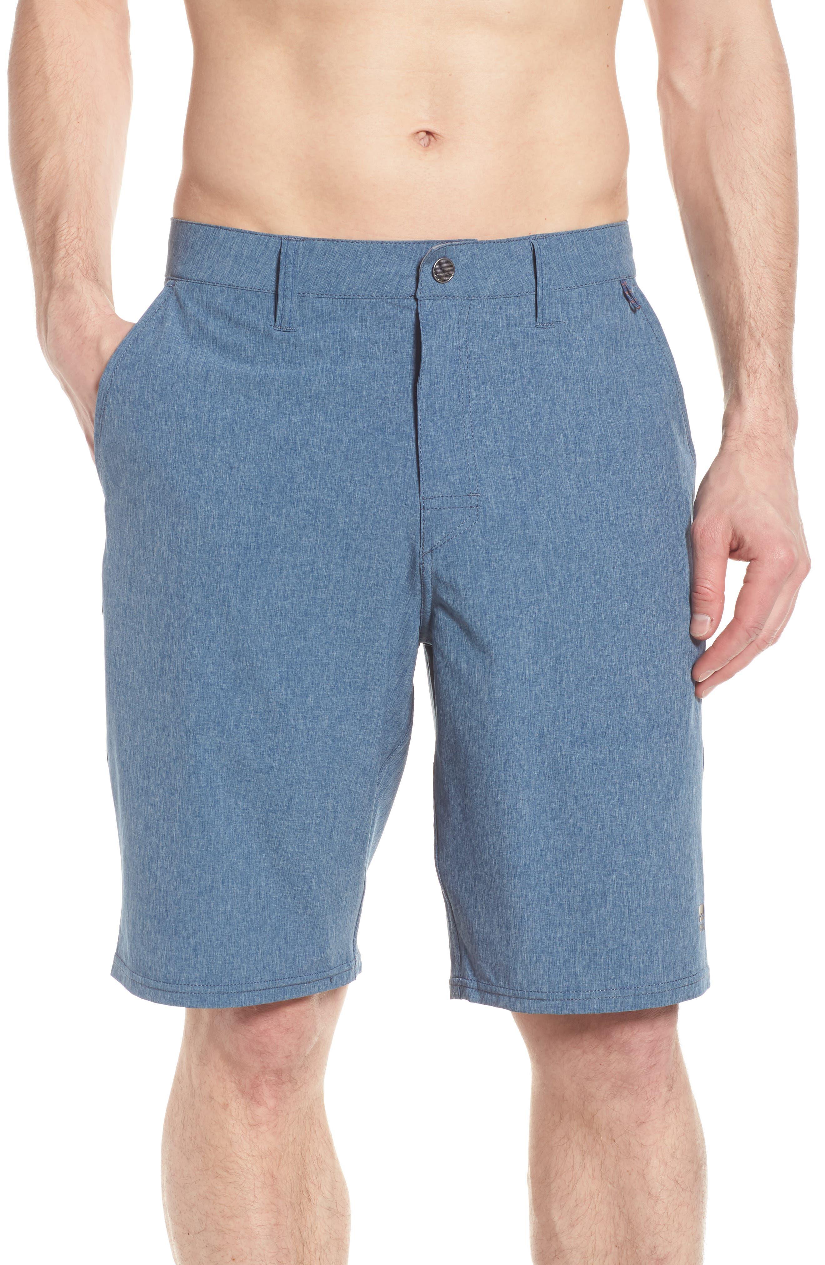 Salty Dog Hybrid Shorts,                             Alternate thumbnail 4, color,                             DEEP SEA